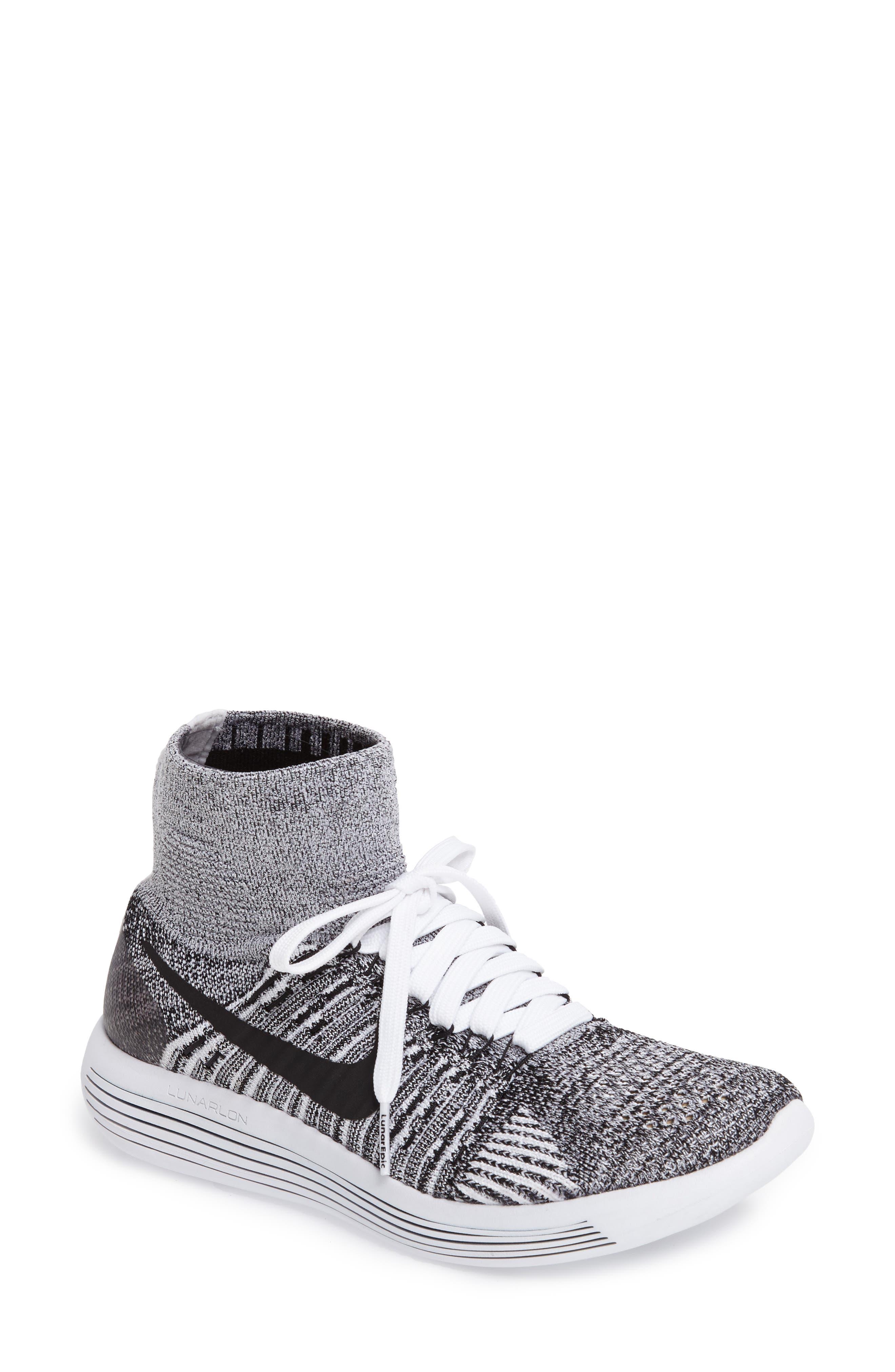 Nike LunarEpic Flyknit Running Shoe (Women)