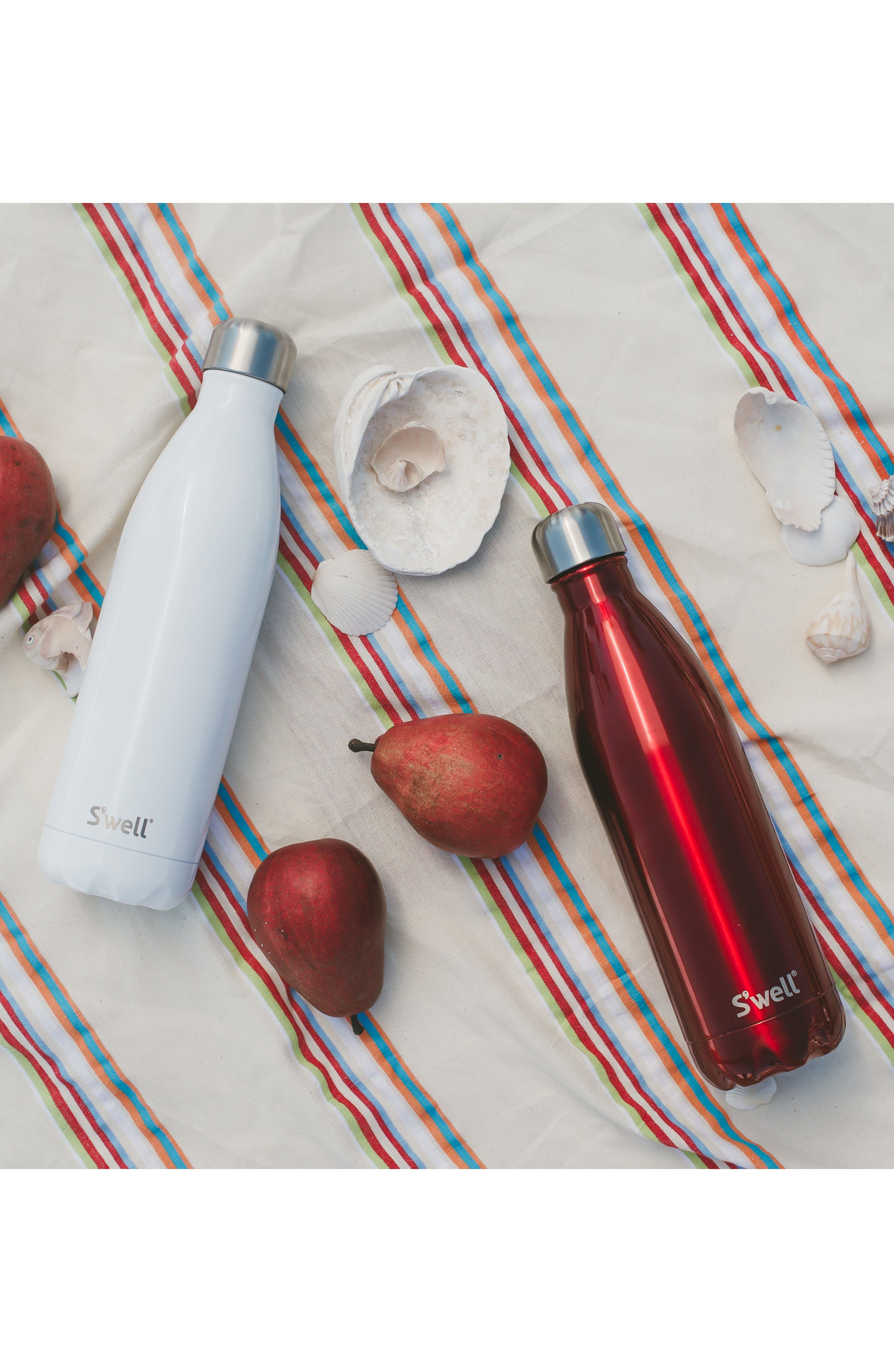 Alternate Image 2  - S'well 'Shimmer Collection' Stainless Steel Water Bottle