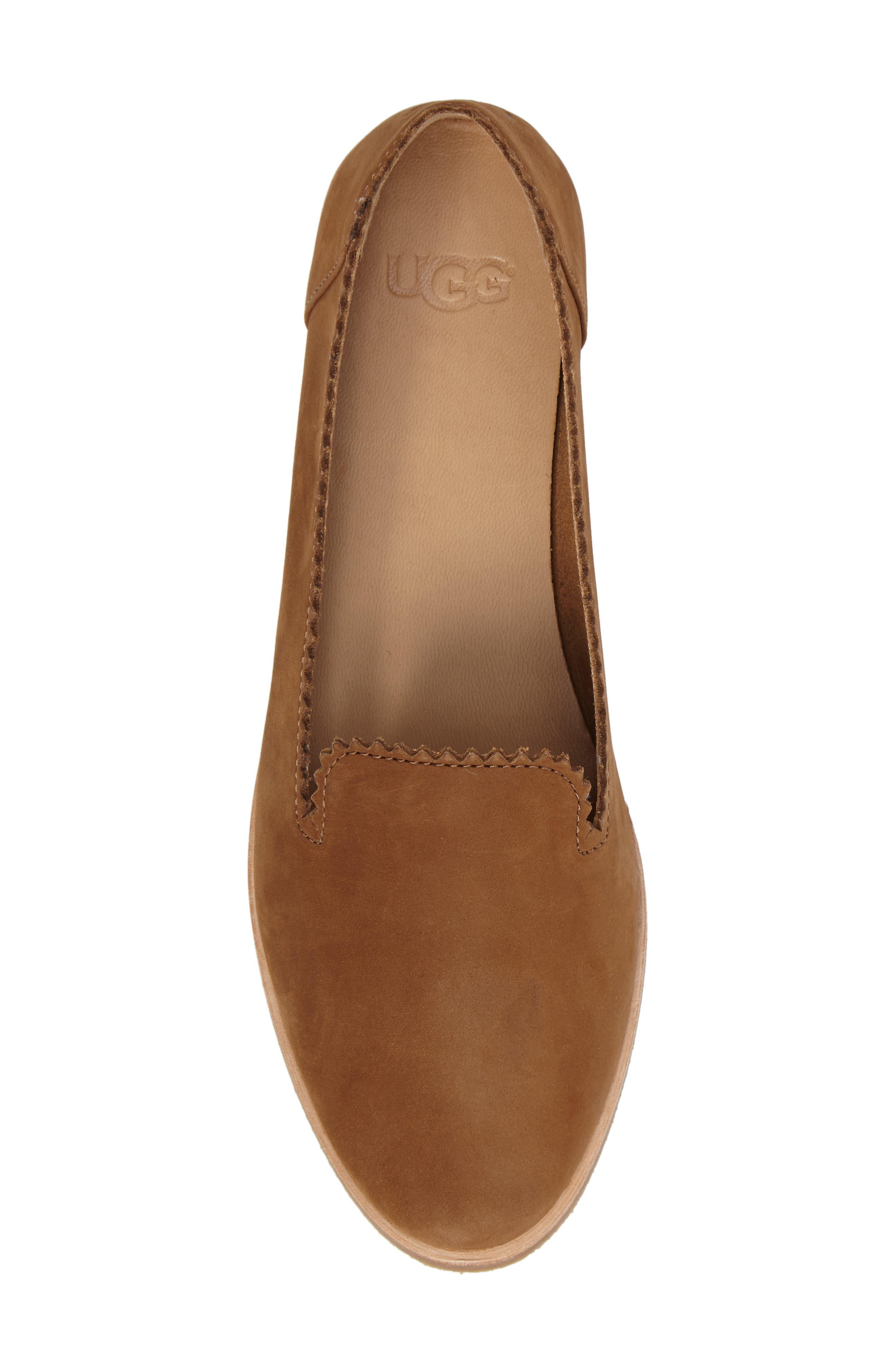 Alternate Image 5  - UGG® Vista Slip-On Flat (Women)