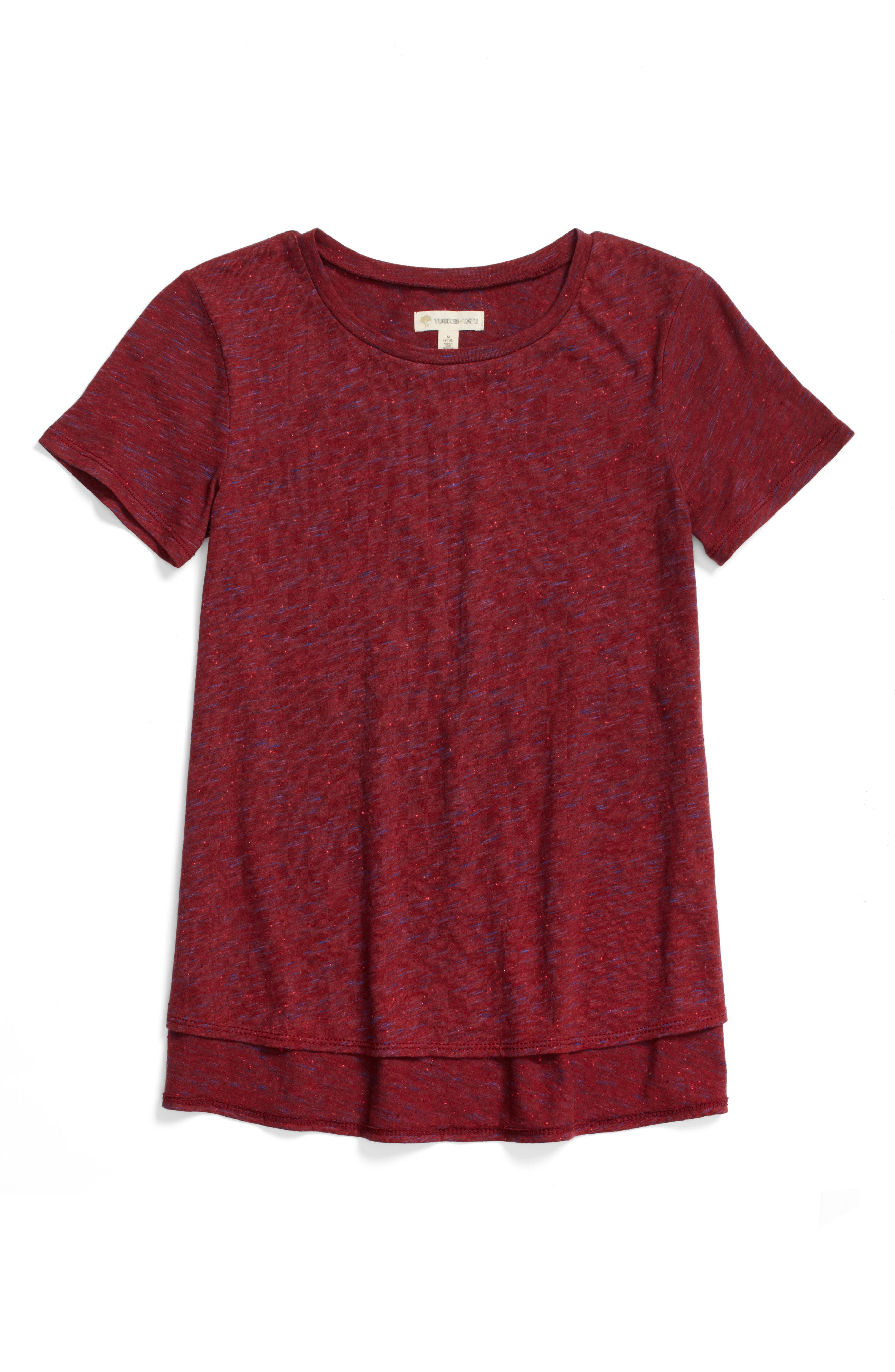 Tucker + Tate Side Split Tee (Big Girls)