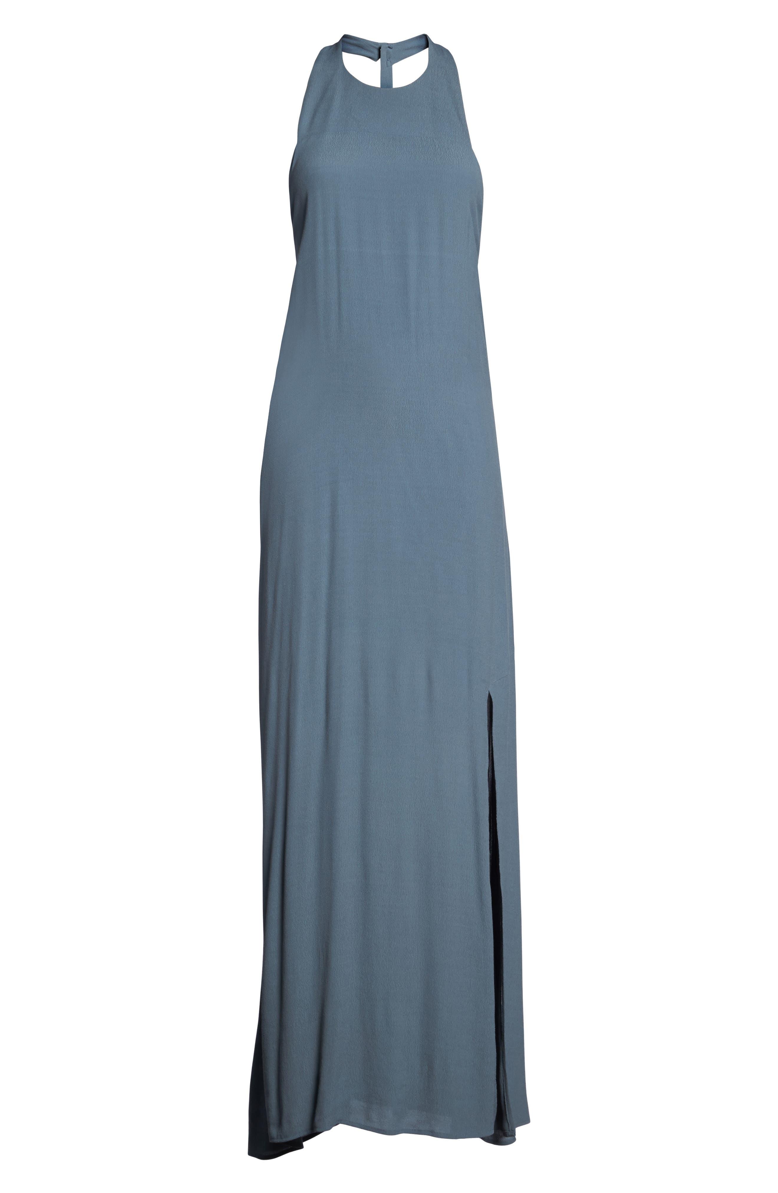 Alternate Image 7  - Roe + May Bordeaux Crepe Dress