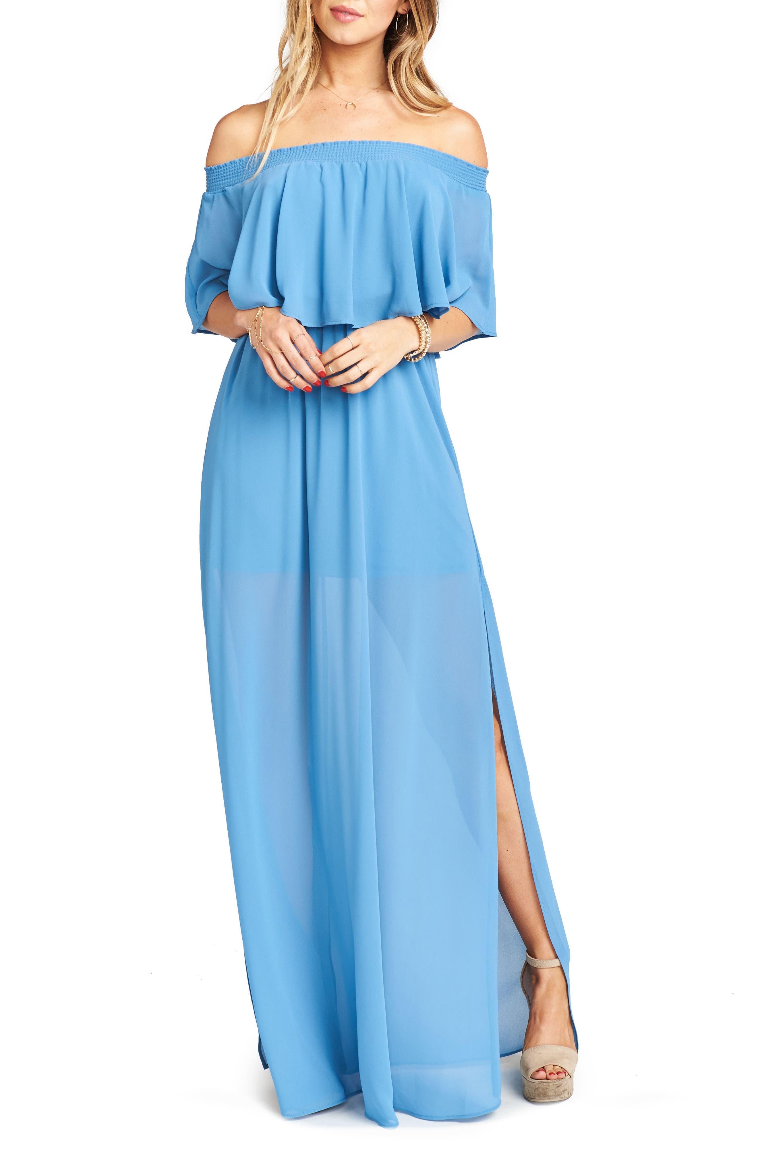 Main Image - Show Me Your Mumu Hacienda Convertible Gown