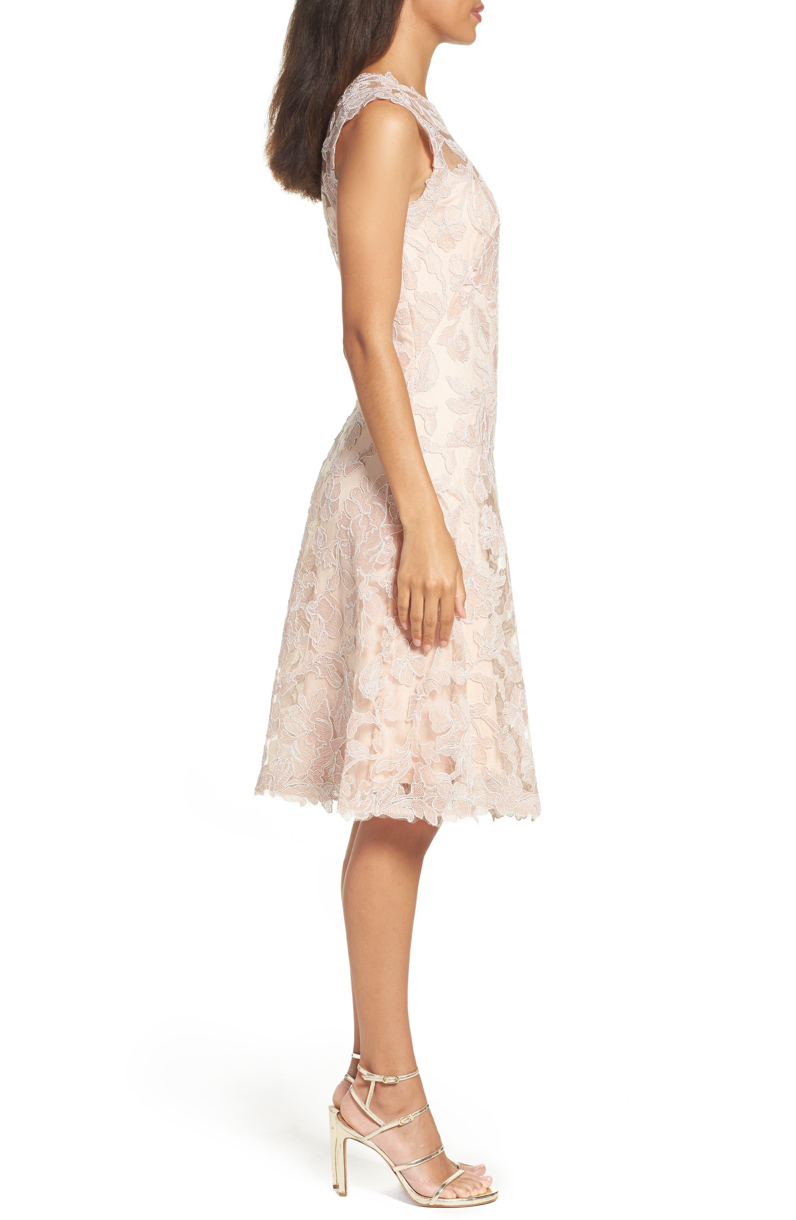 Alternate Image 3  - Tadashi Shoji Fit & Flare Dress