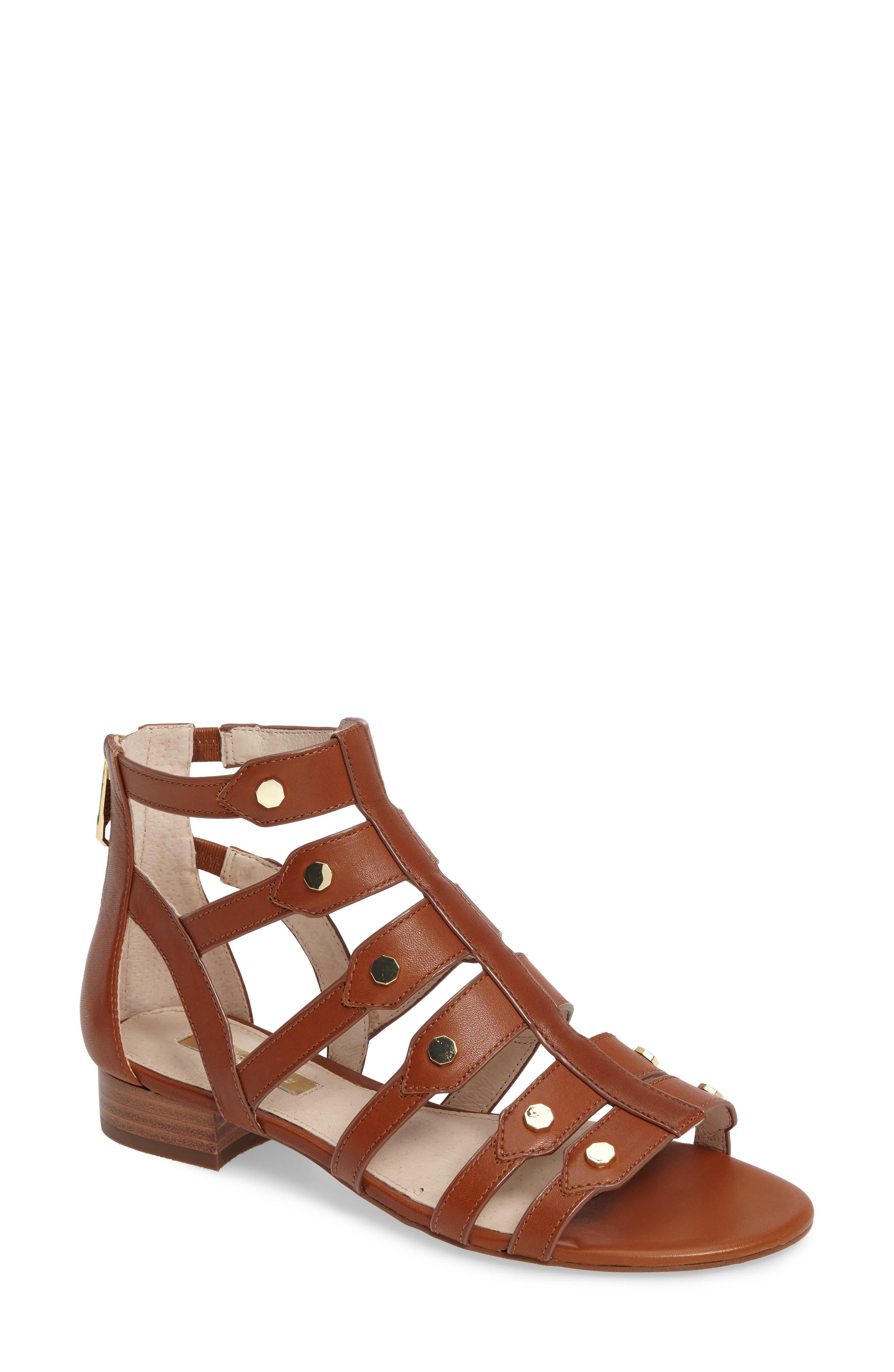 Alternate Image 1 Selected - Louise et Cie Aria Studded Gladiator Sandal (Women)