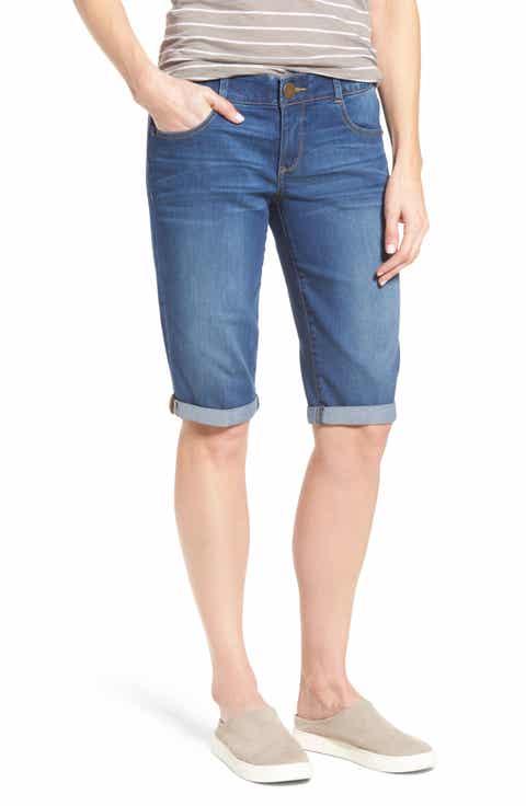 Women's Denim Long Shorts | Nordstrom