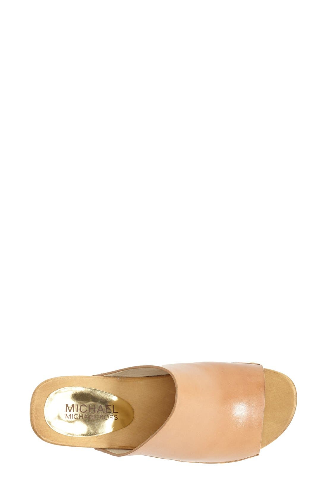Alternate Image 3  - MICHAEL Michael Kors 'Beatrice' Studded Open Toe Clog (Women)
