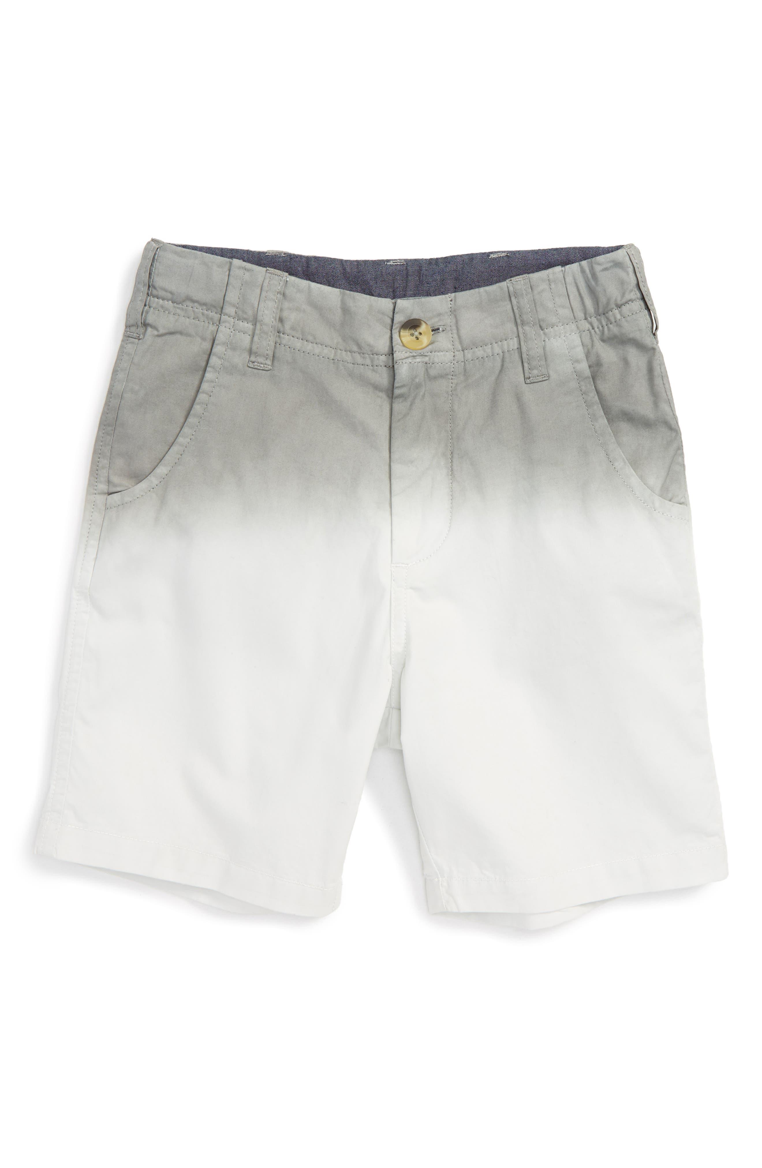 Peek Dip Dye Cotton Twill Shorts (Toddler Boys, Little Boys & Little Boys)