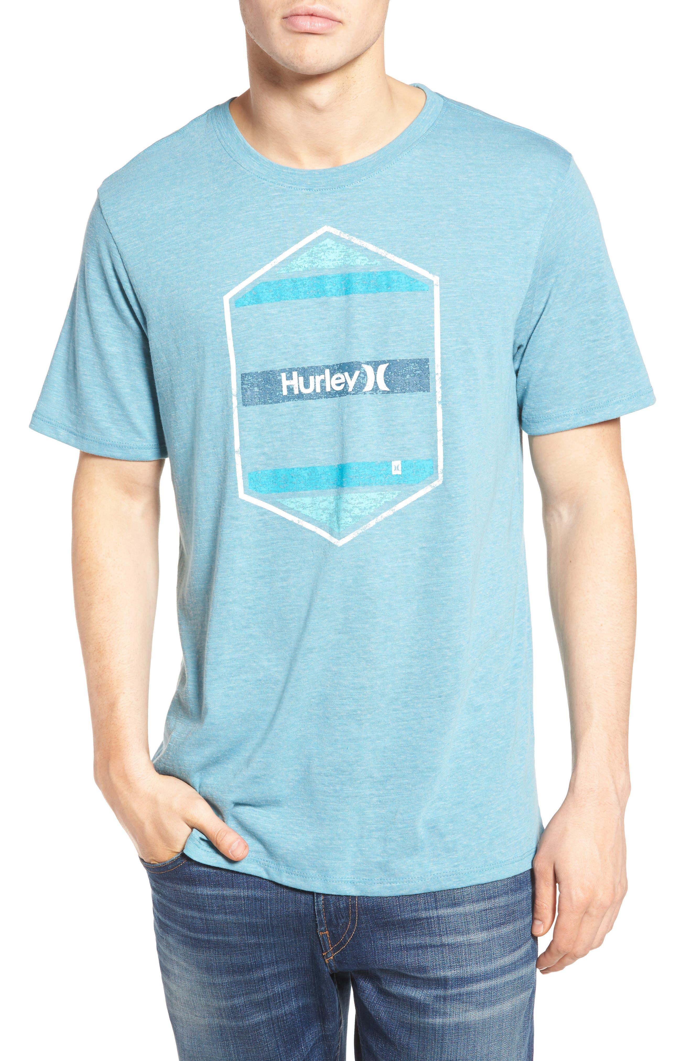 Hurley Maker Logo Graphic T-Shirt