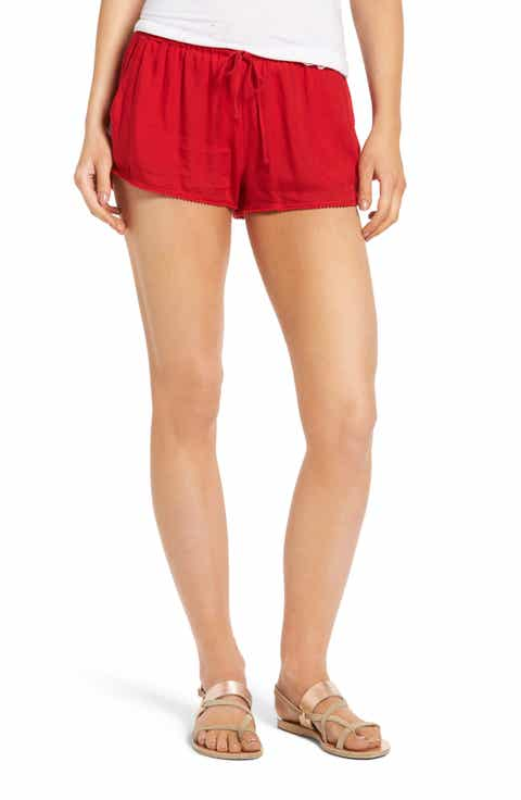 Red Shorts for Women | Nordstrom