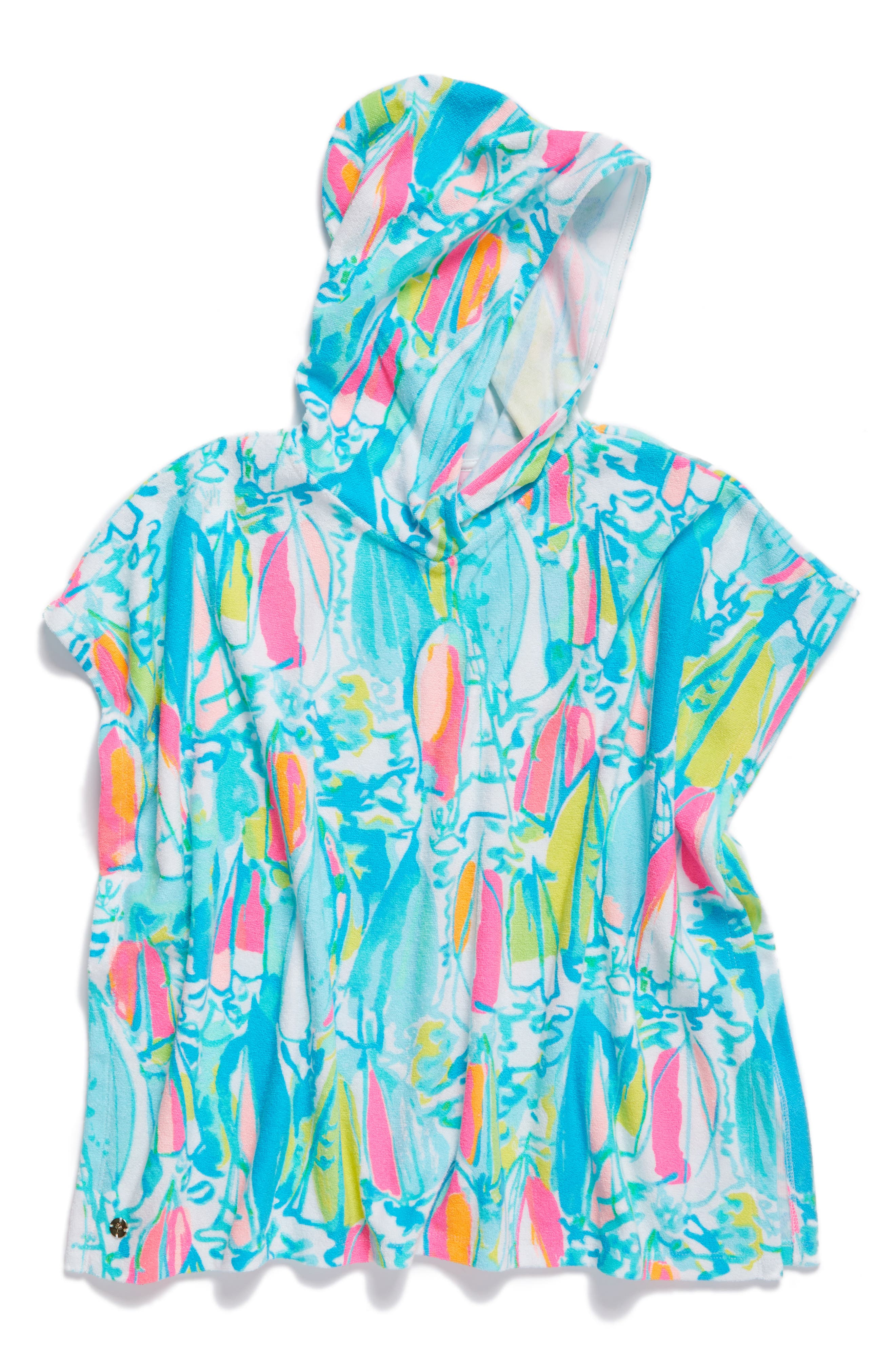 Lilly Pulitzer® Lyra Hooded Terry Cover-Up (Toddler Girls, Little Girls & Big Girls)