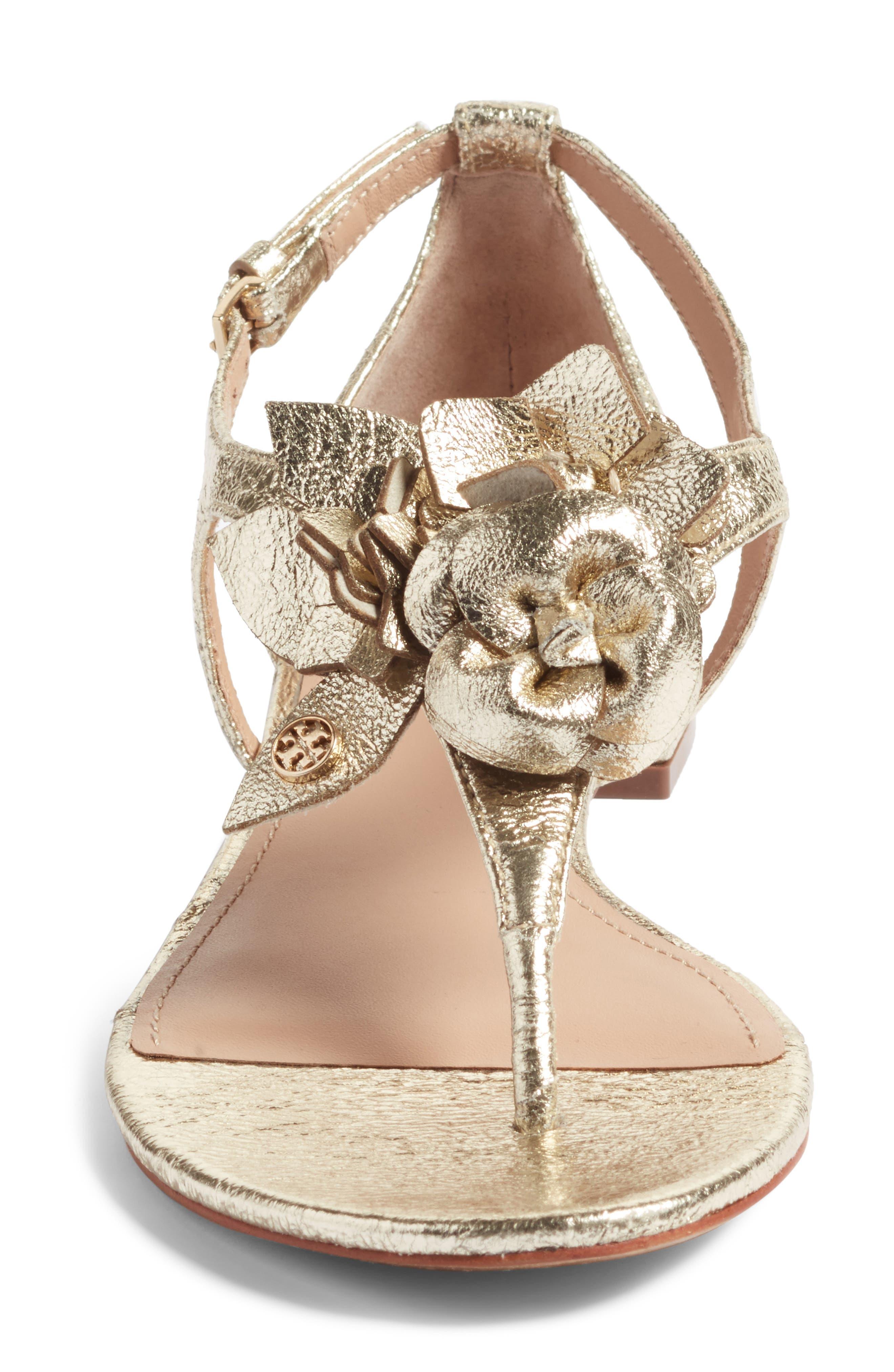 Alternate Image 4  - Tory Burch Blossom Sandal (Women)