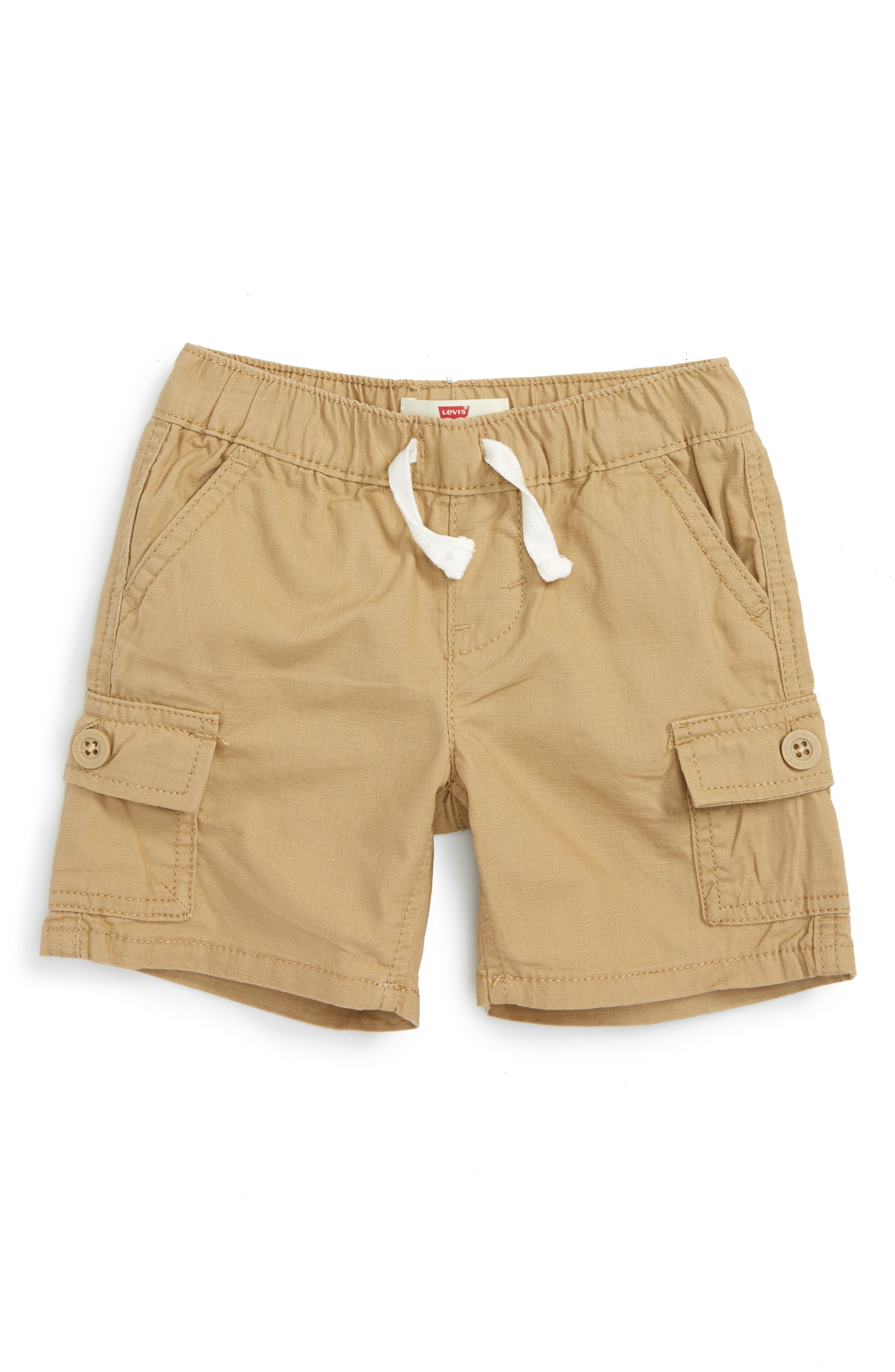 Levi's® Bellcrest Cargo Shorts (Baby Boys)