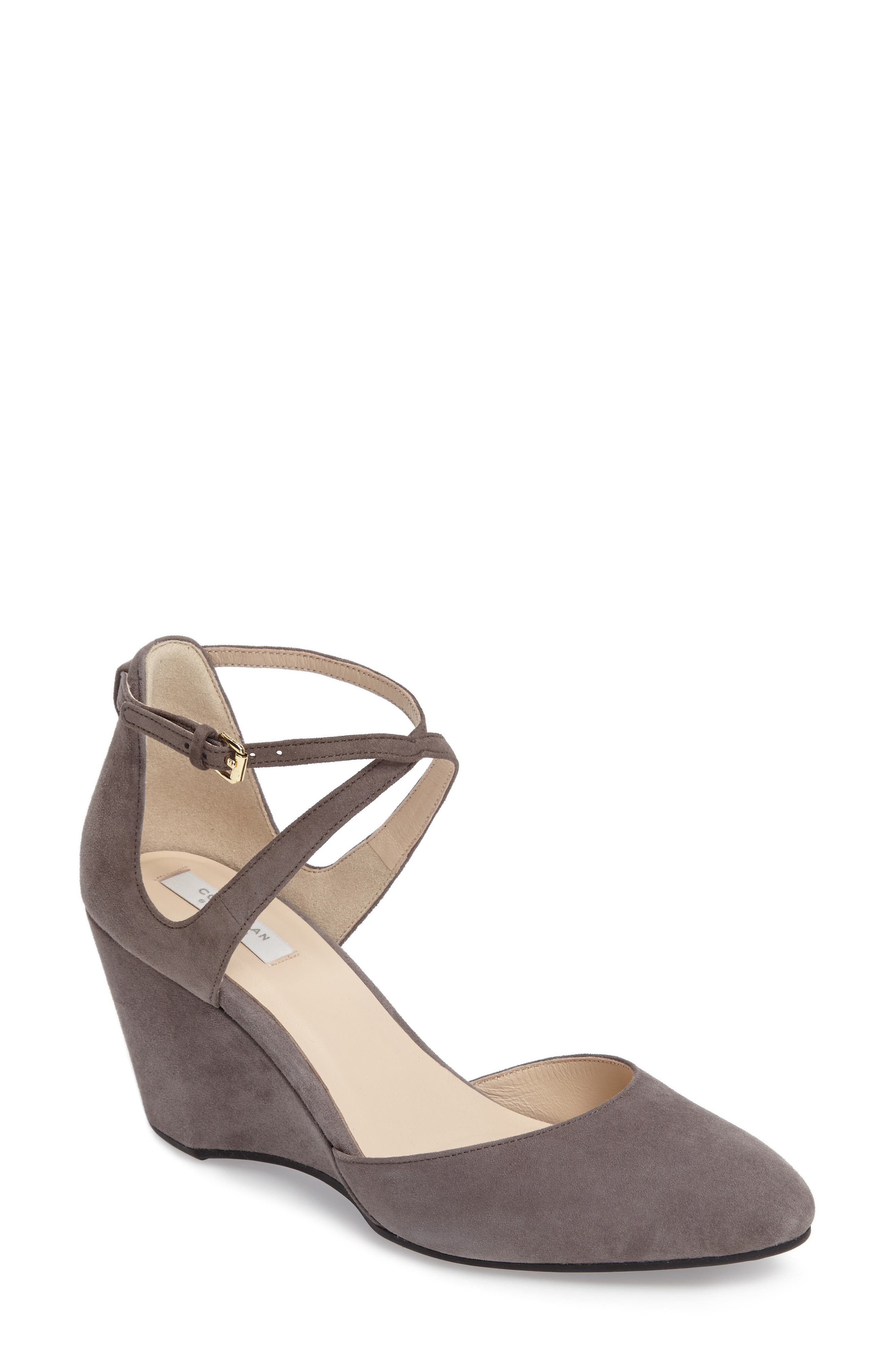 Cole Haan Lacey Ankle Strap Wedge Pump (Women)
