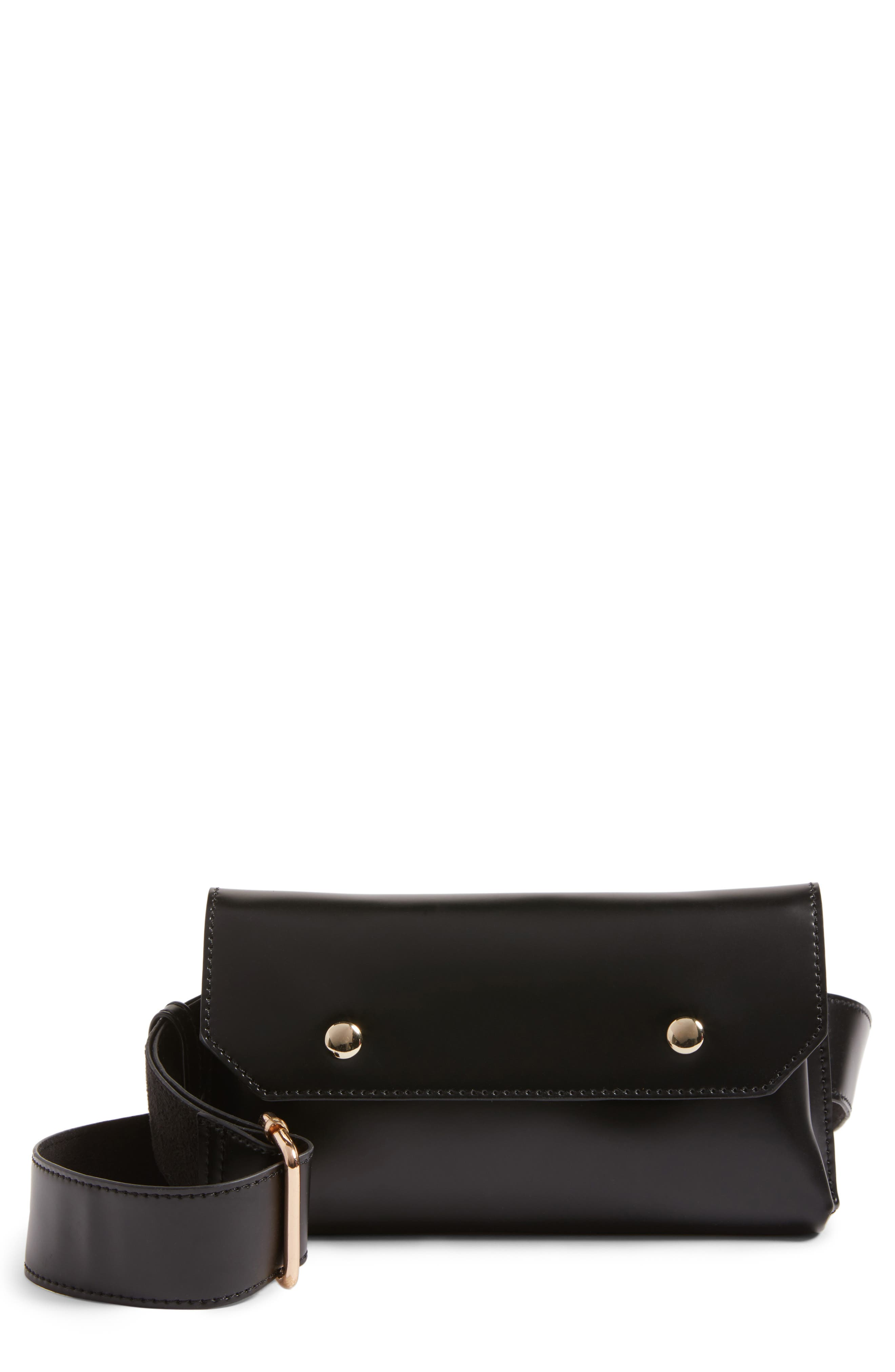 BP. Faux Leather Belt Bag