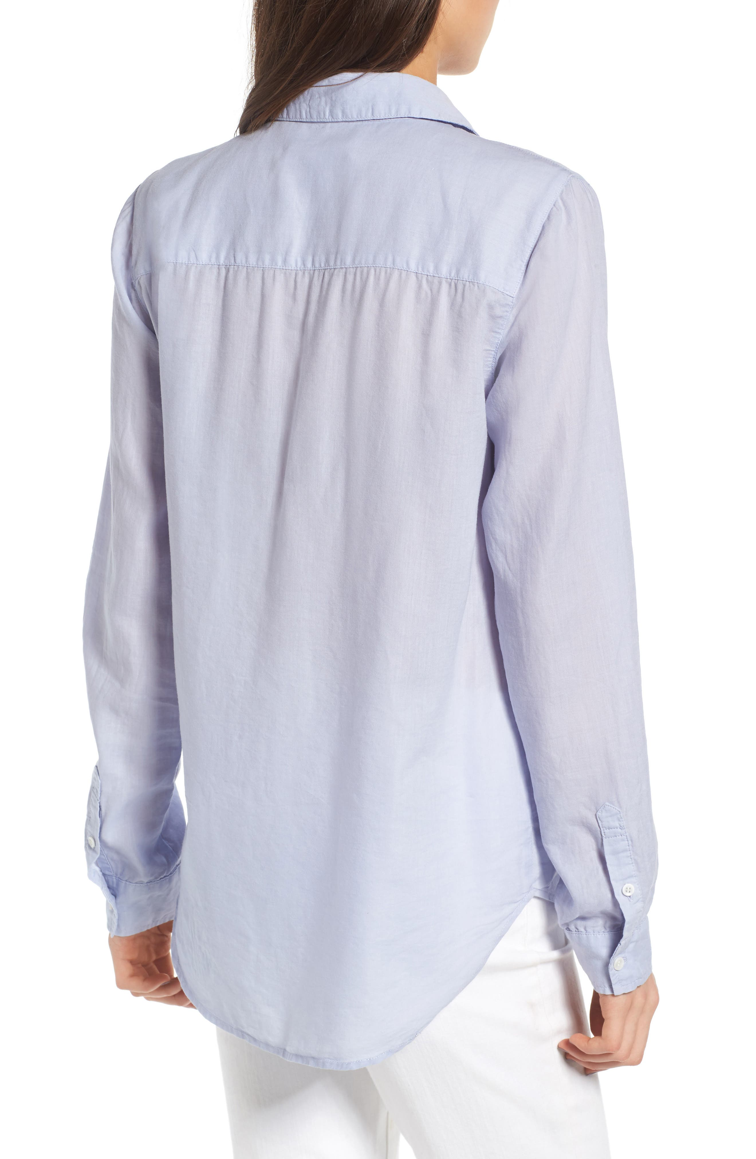 Alternate Image 2  - Treasure & Bond Drapey Classic Shirt
