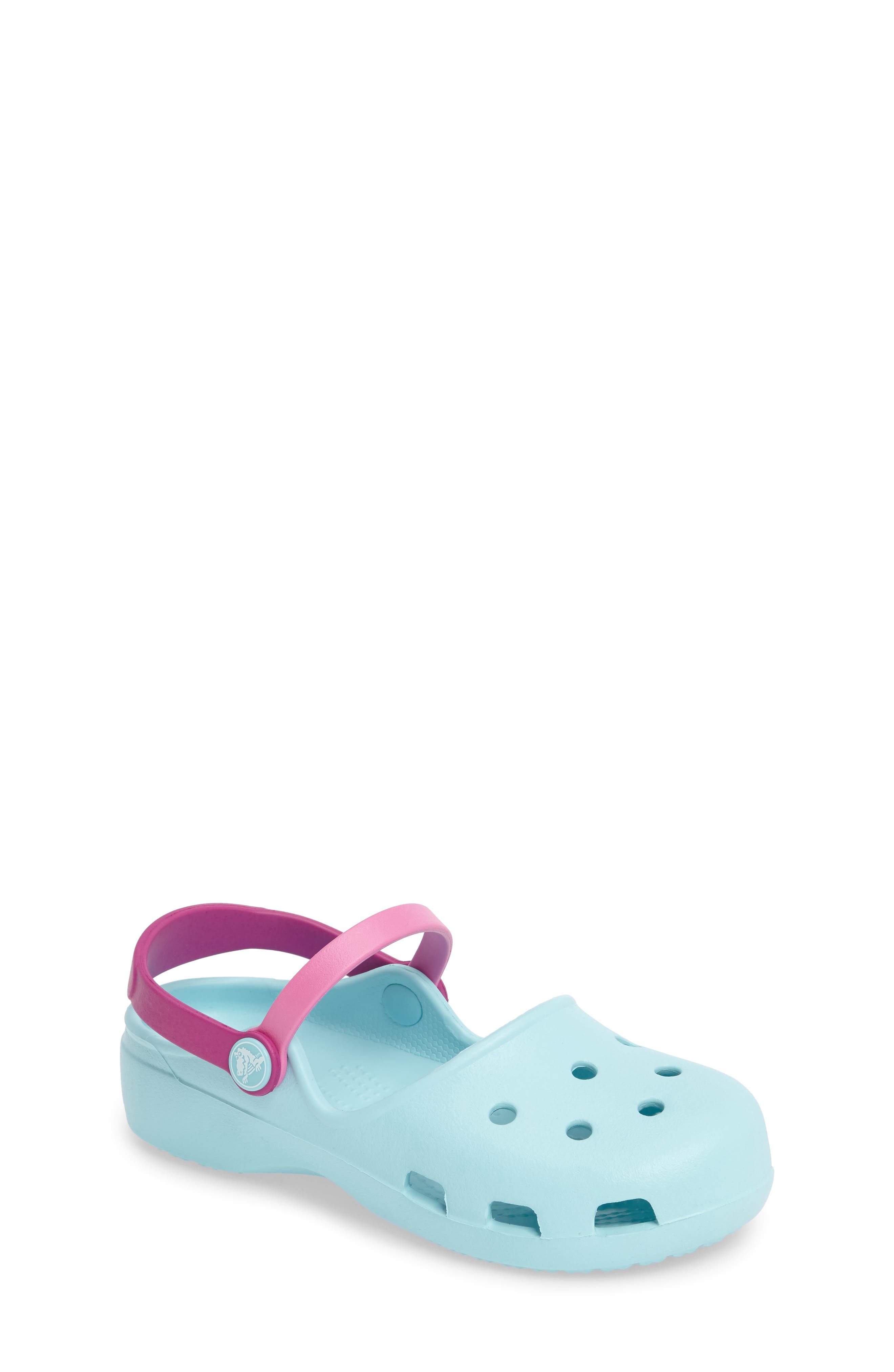 CROCS™ Karin Clogs (Walker, Toddler & Little Kid)