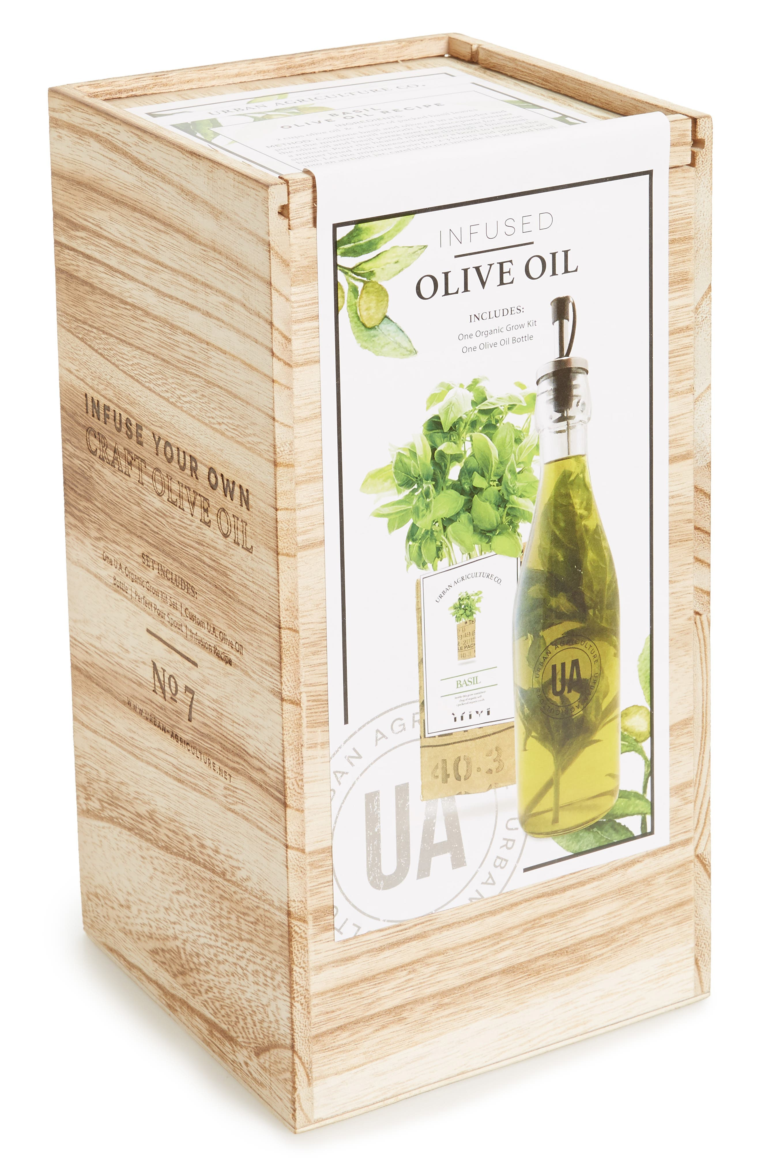 The Urban Agriculture Co. Infused Olive Oil Kit