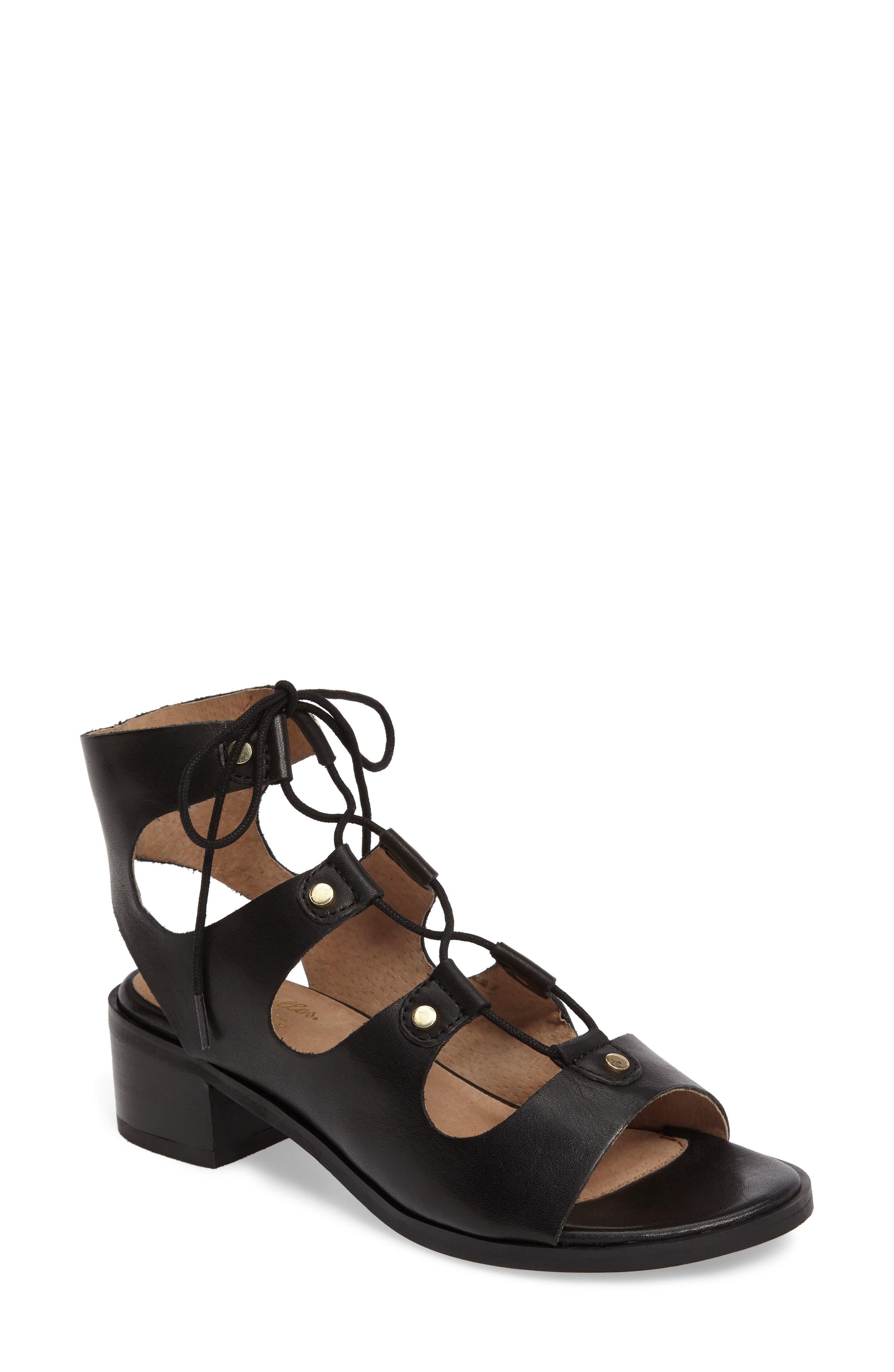 Alternate Image 1 Selected - Seychelles Love Affair Lace-Up Sandal (Women)