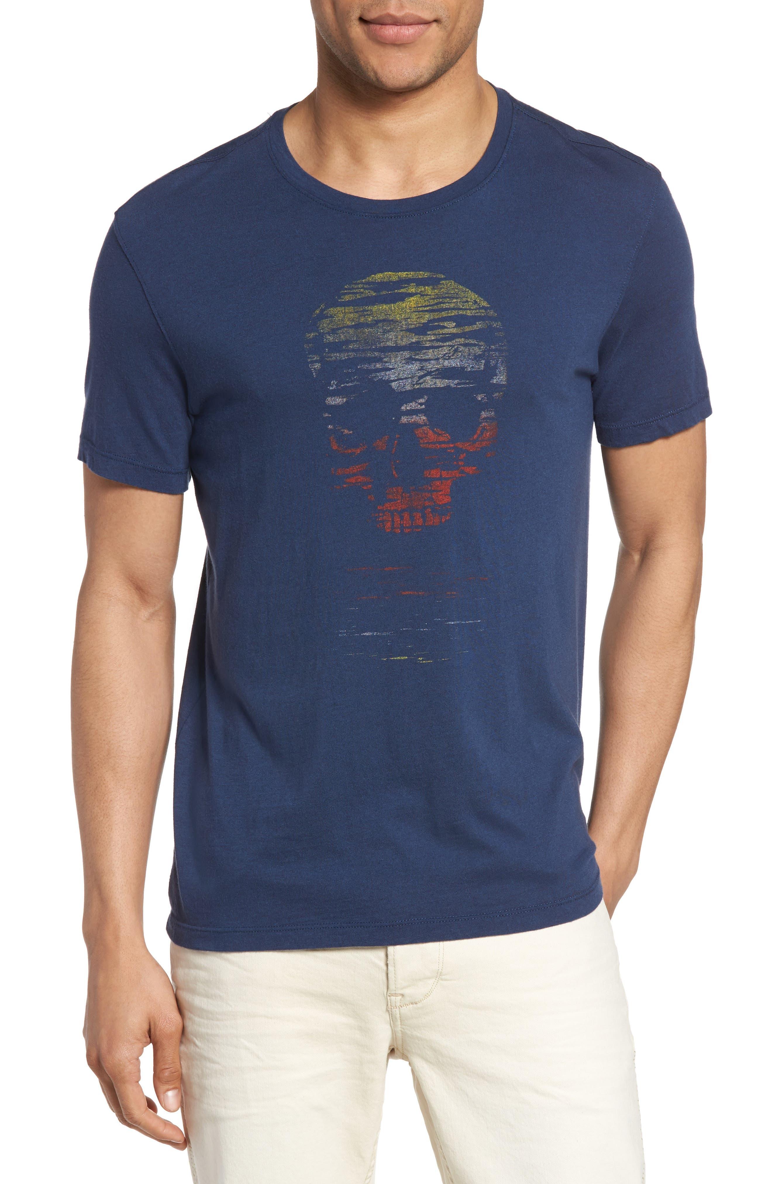 John Varvatos Star USA Skull Sun Graphic T-Shirt