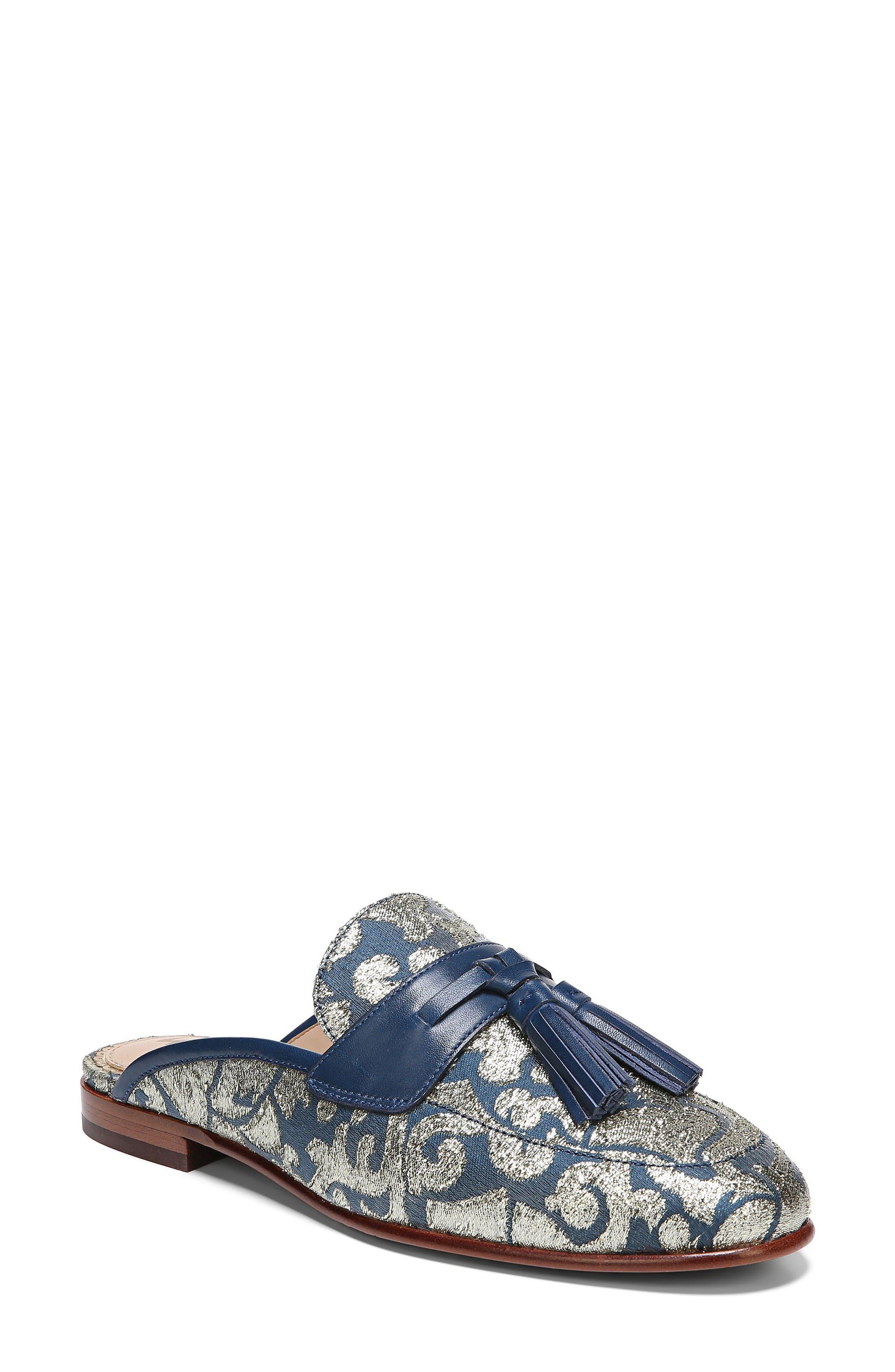 Alternate Image 1 Selected - Sam Edelman Paris Backless Tassel Loafer (Women)