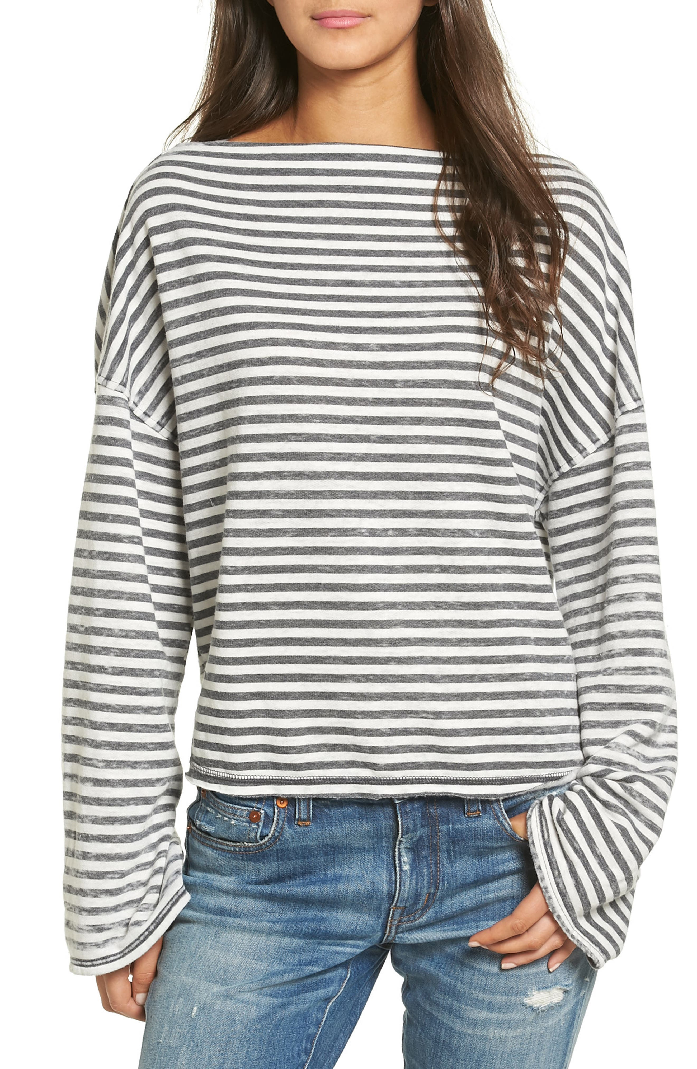 Alternate Image 1 Selected - Treasure & Bond Slouchy Pullover