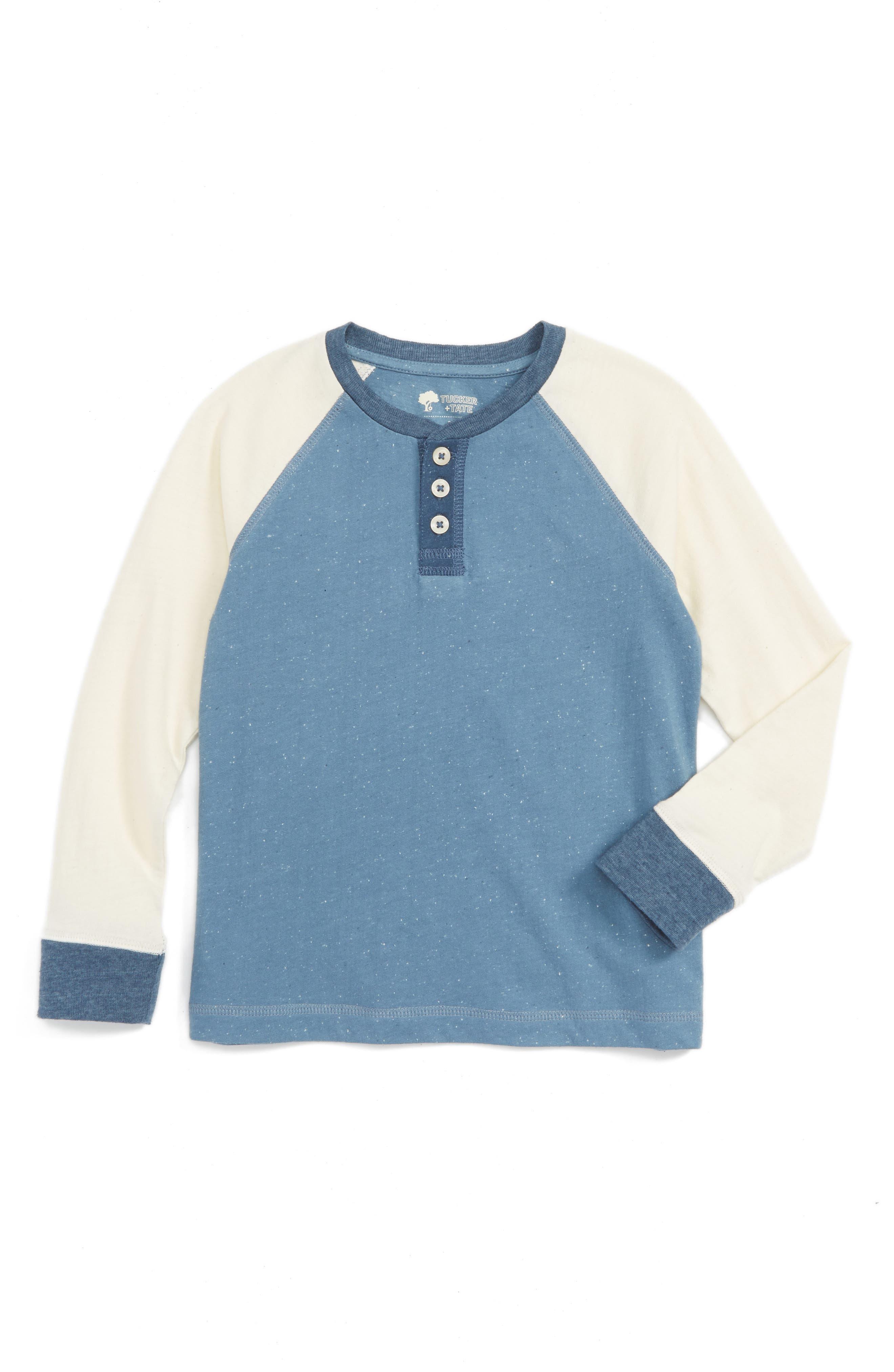Tucker + Tate Colorblock Henley T-Shirt (Toddler Boys & Little Boys)