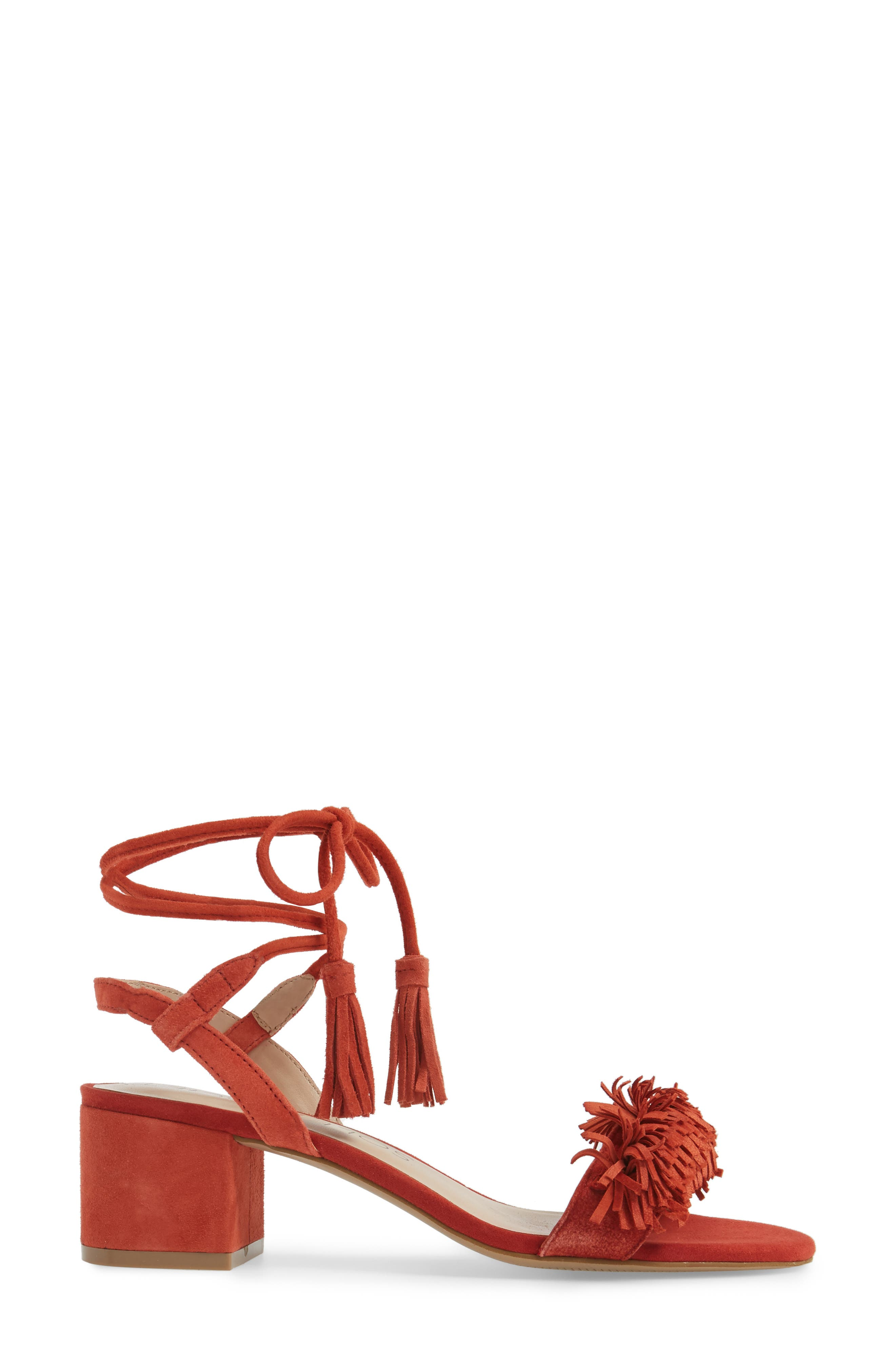 Alternate Image 3  - Sole Society Sera Wraparound Fringe Sandal (Women)