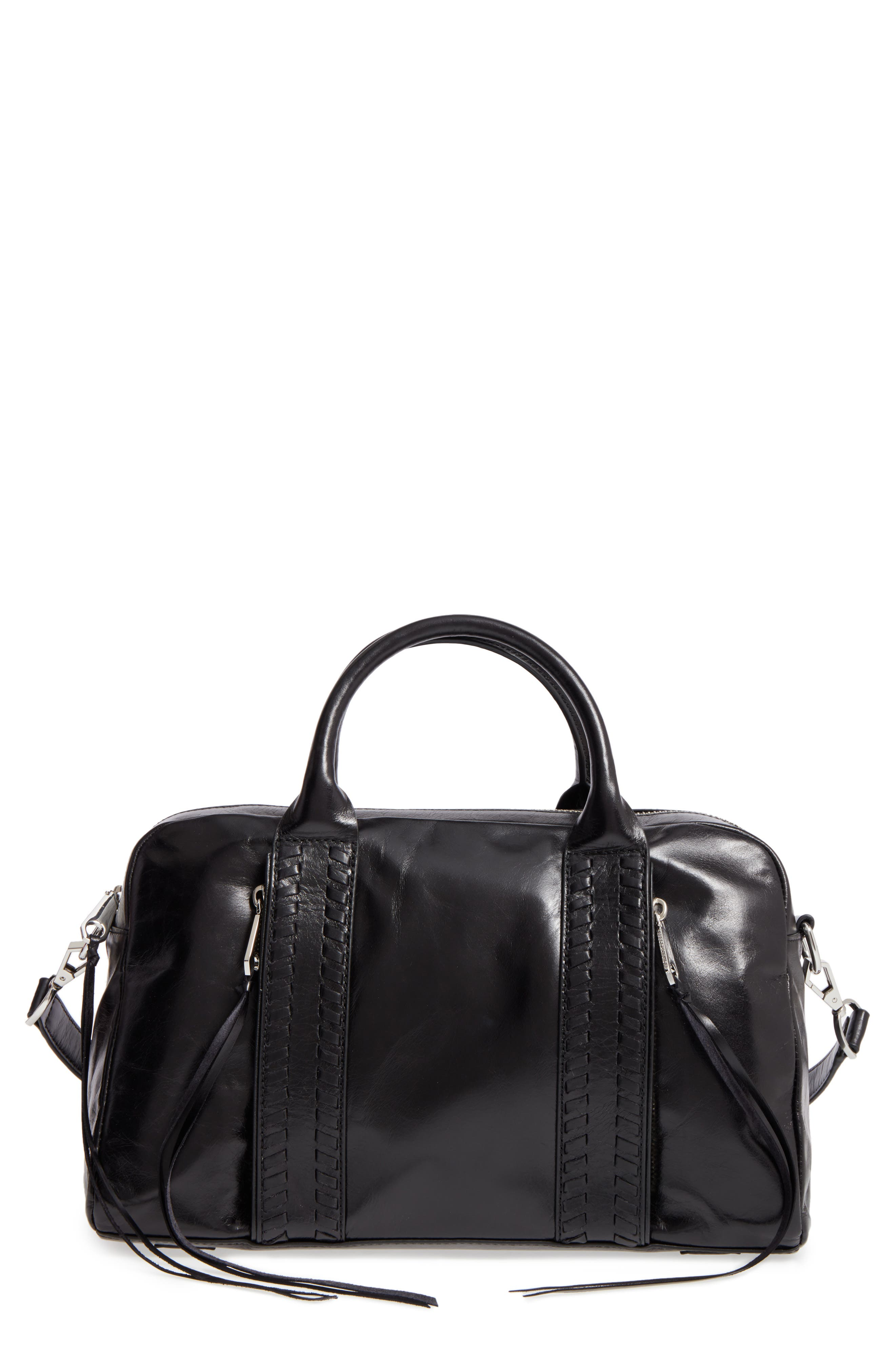 Rebecca Minkoff Vanity Leather Zip Satchel
