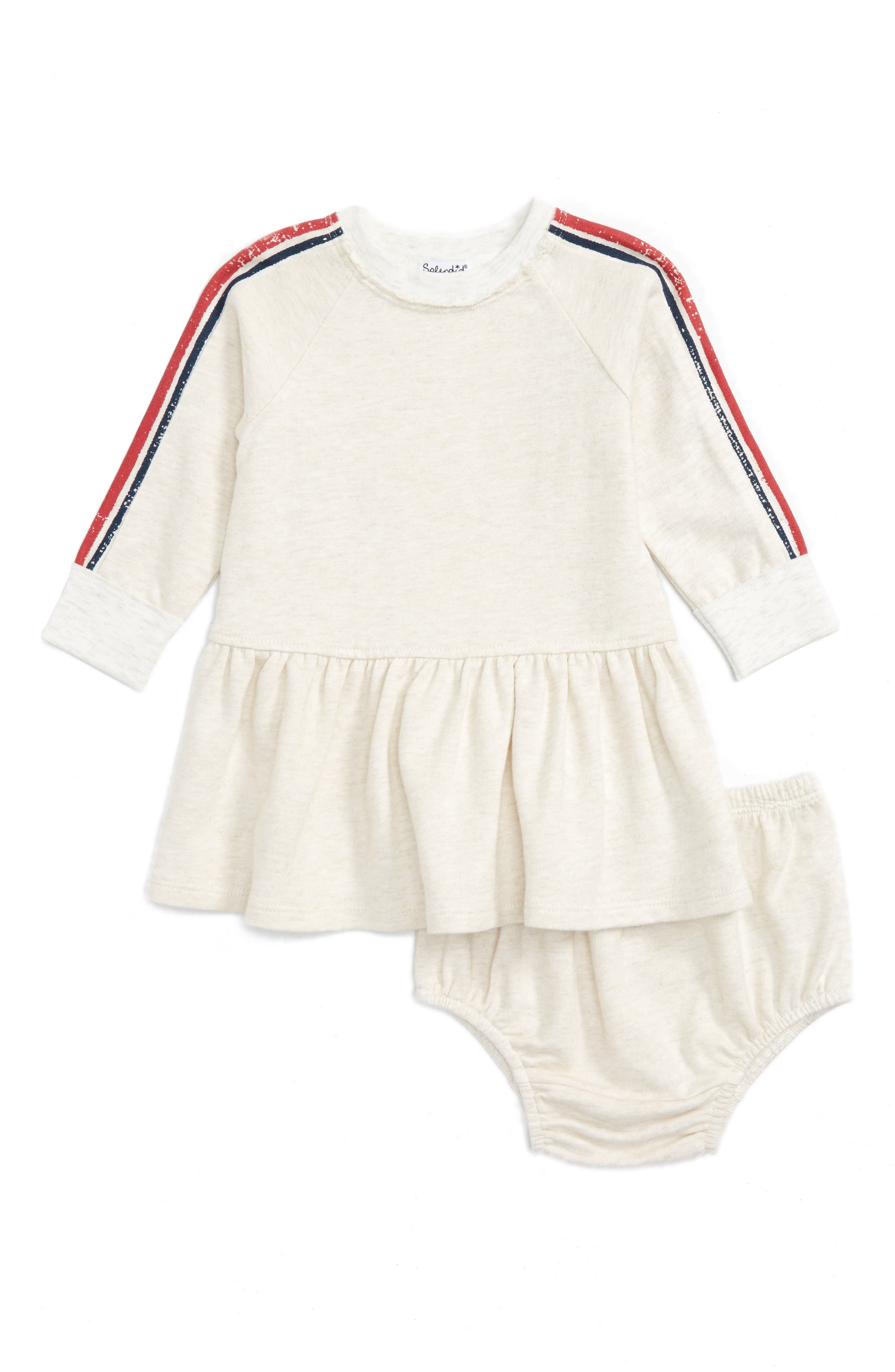 Splendid Stripe Dress (Baby Girls)