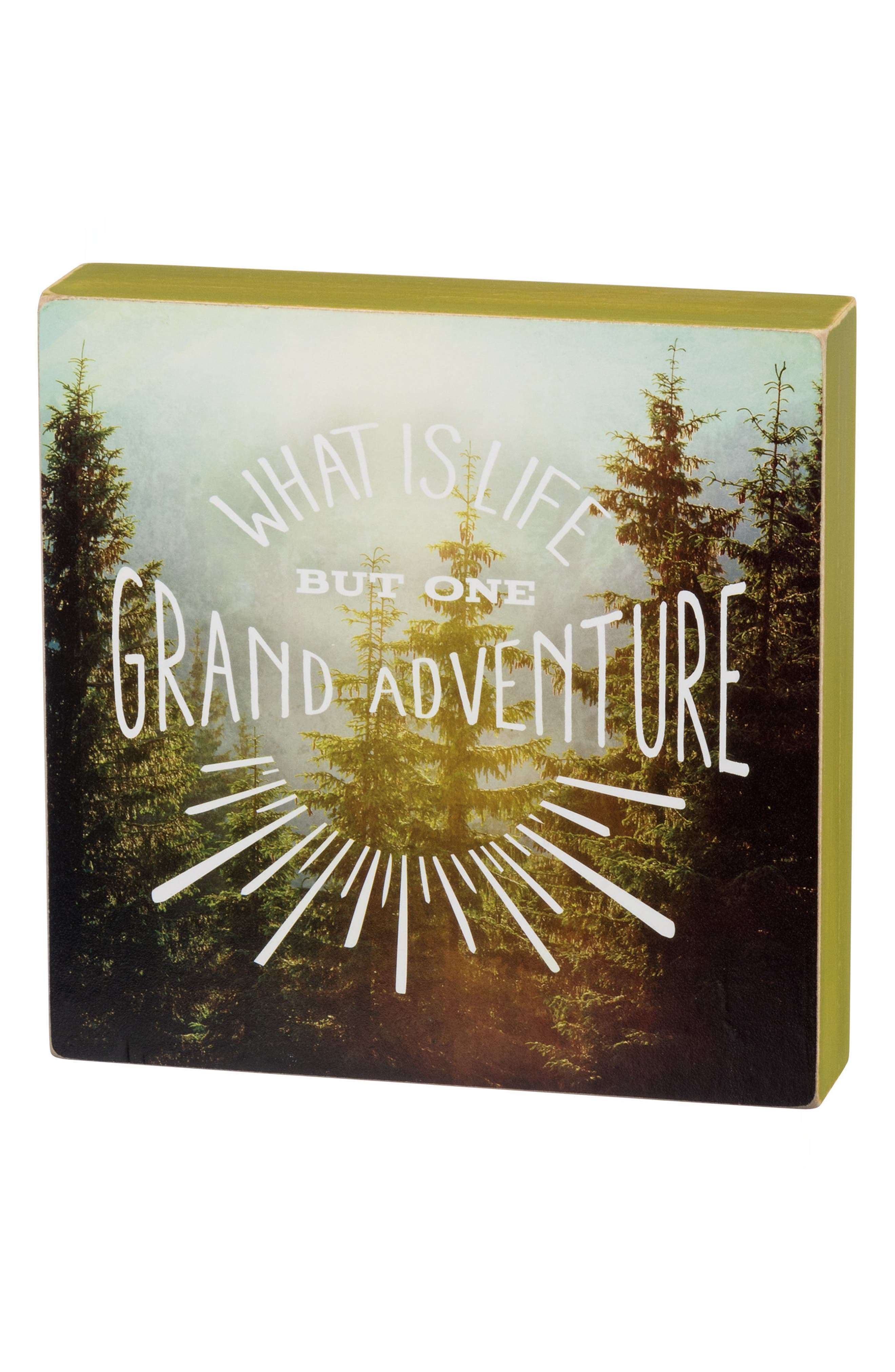 Primitives by Kathy Grand Adventure Box Sign