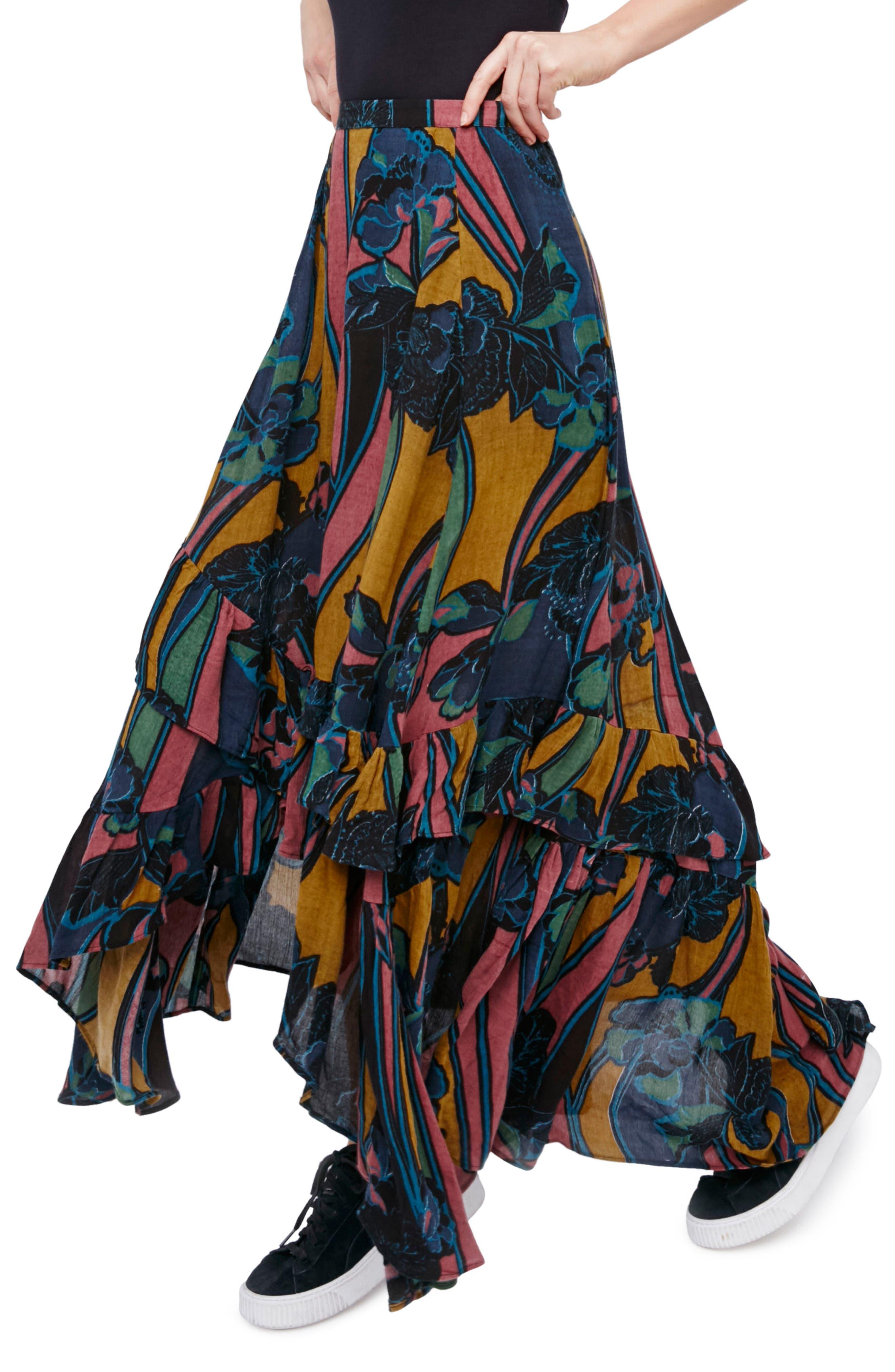 Main Image - Free People Bring Back the Summer Maxi Skirt