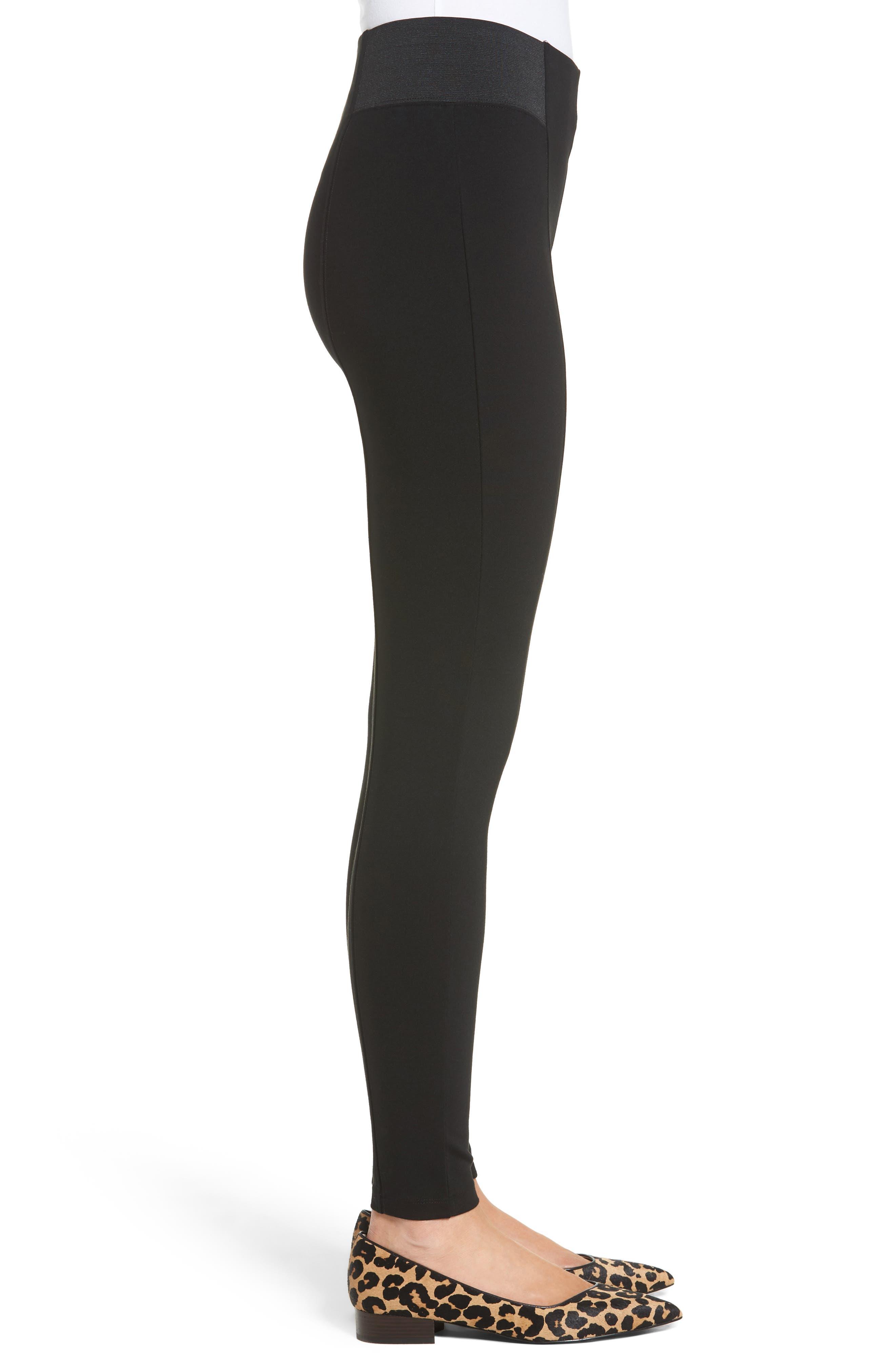 Alternate Image 3  - Halogen® Seamed Leggings (Regular & Petite)