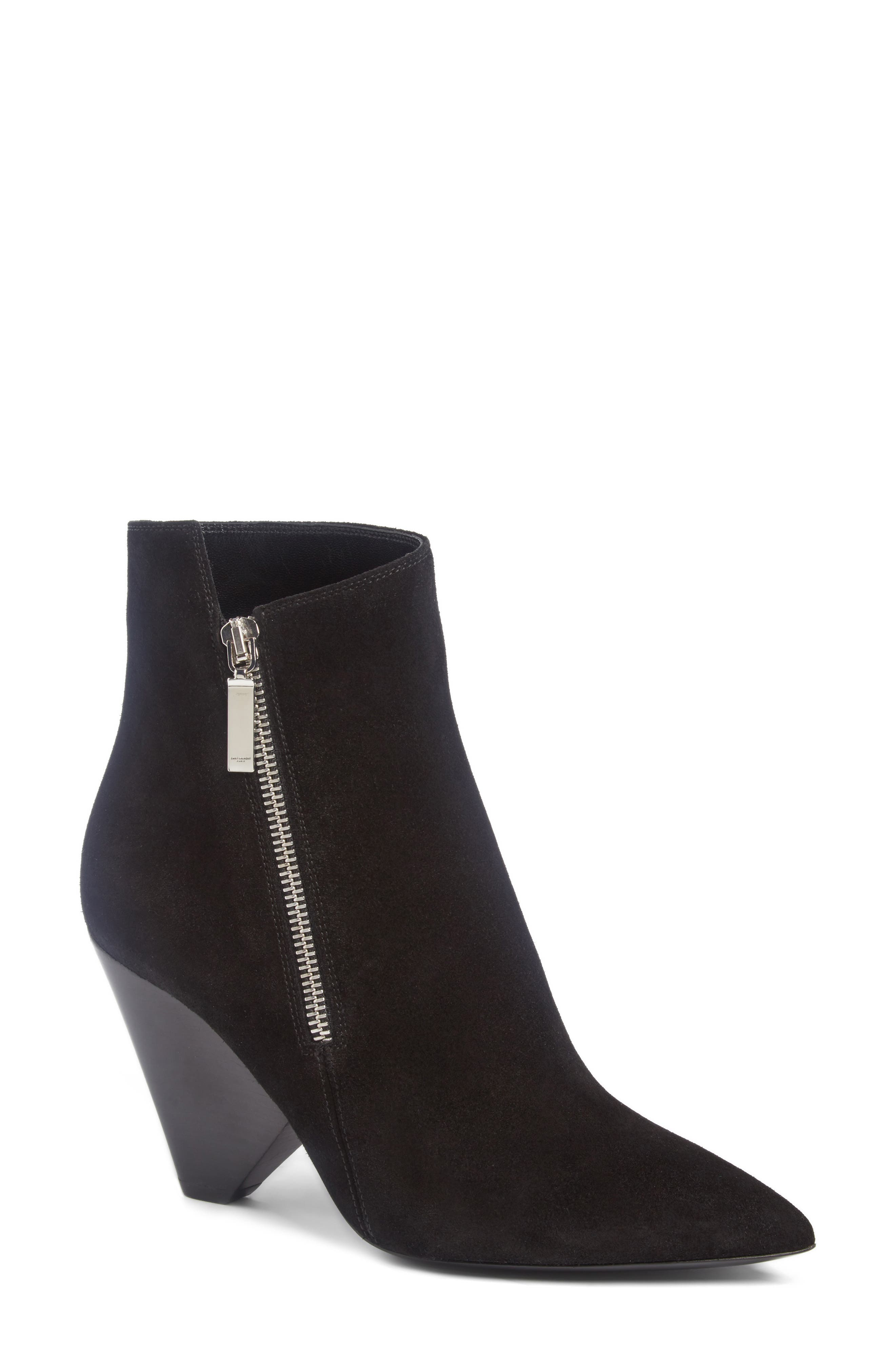 Saint Laurent Niki Cone Bootie (Women)