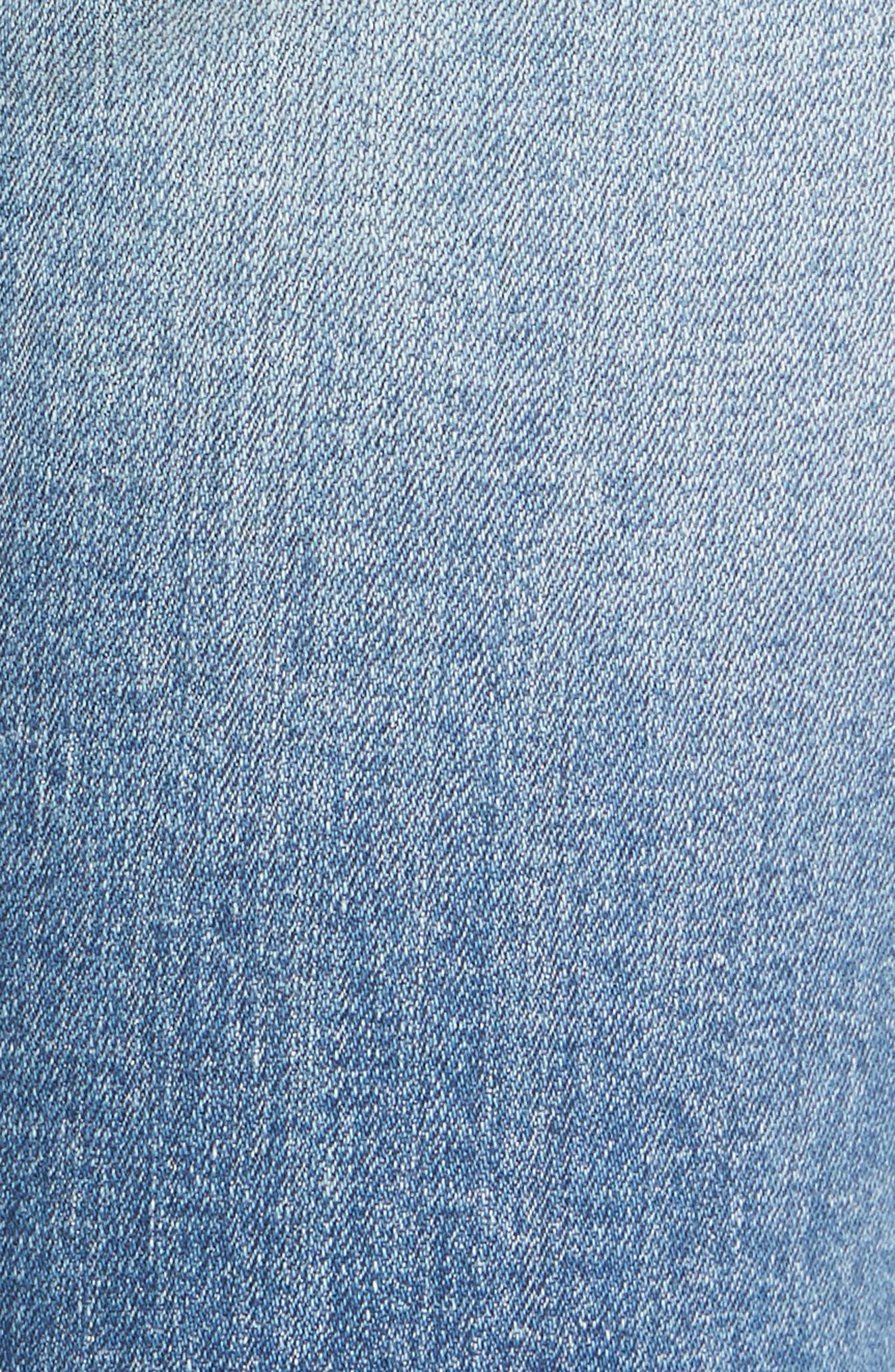 Alternate Image 5  - Vigoss Tomboy Ripped Skinny Jeans
