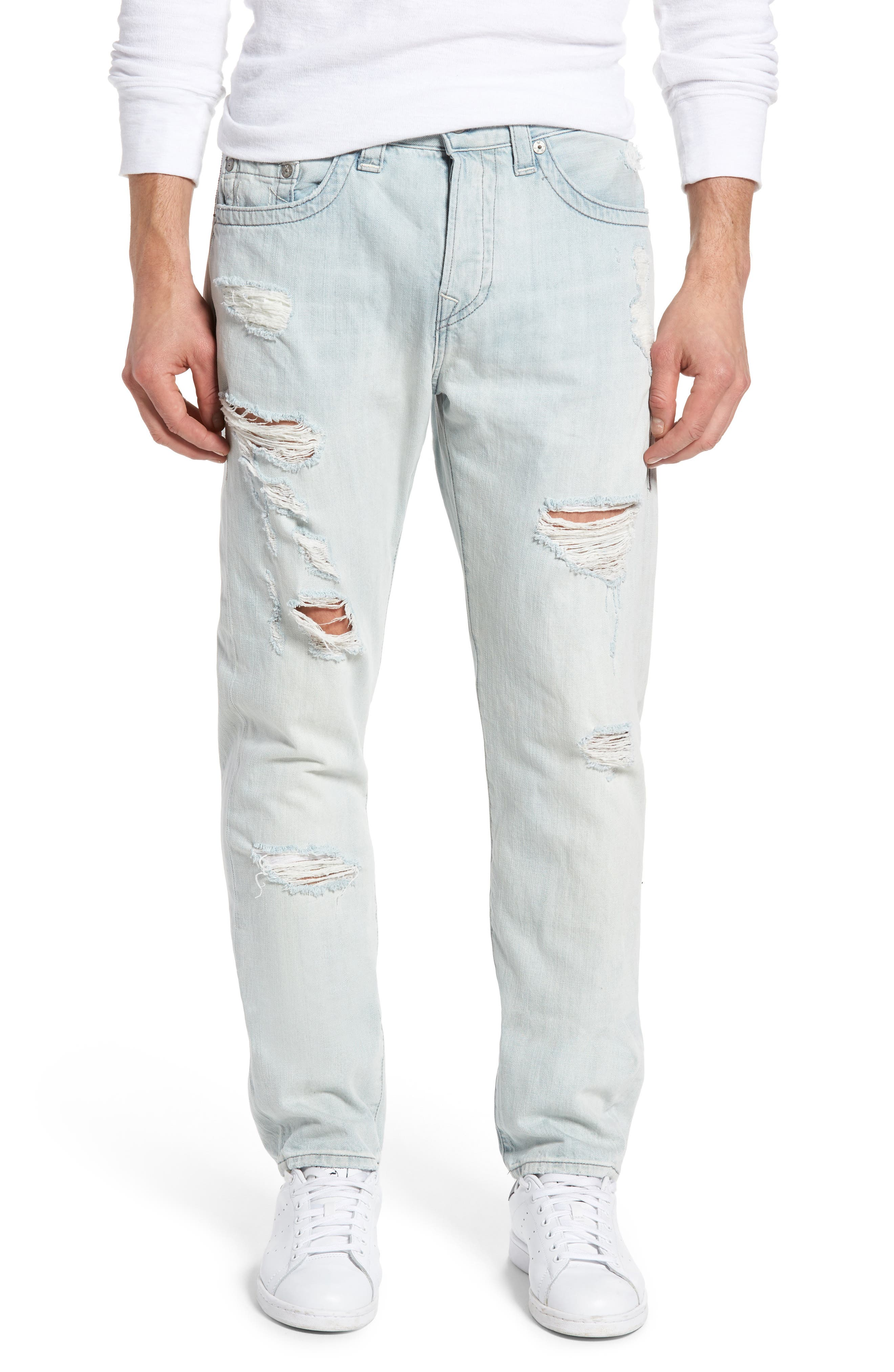 True Religion Brand Jeans Dean Slim Fit Jeans (Worn Tropics)