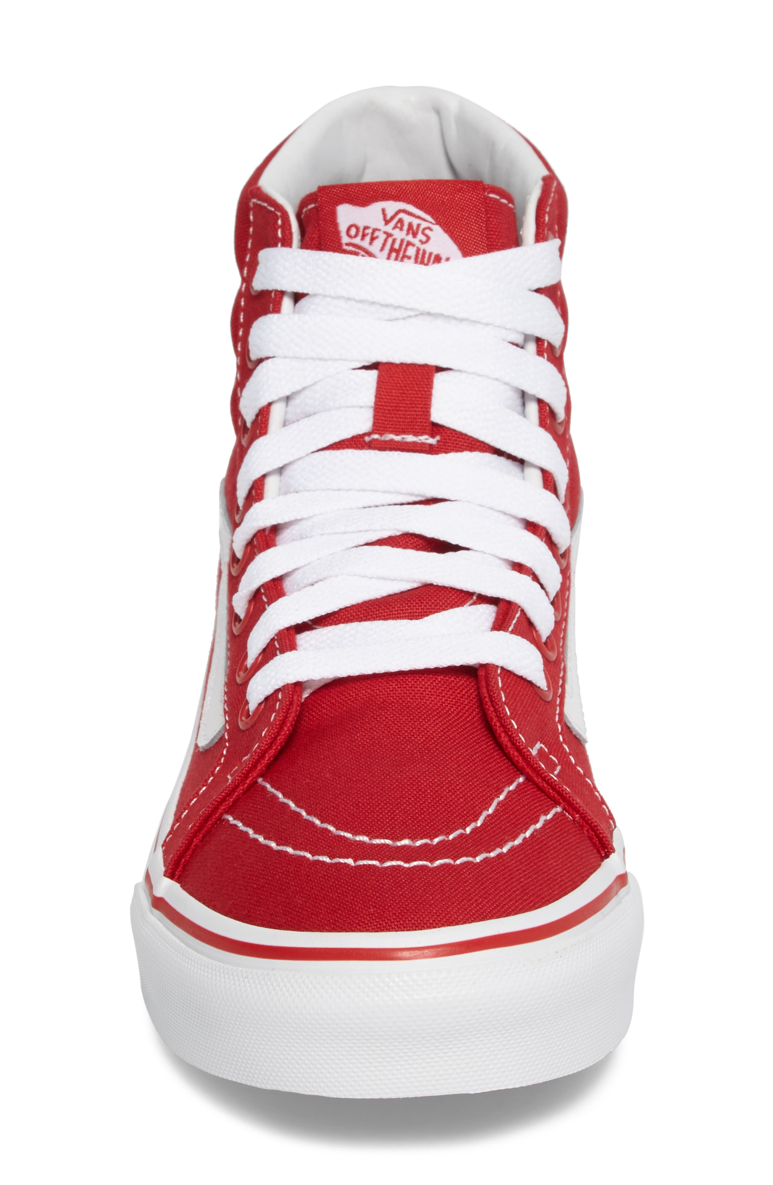 Alternate Image 4  - Vans 'Sk8-Hi Slim' Sneaker (Women)