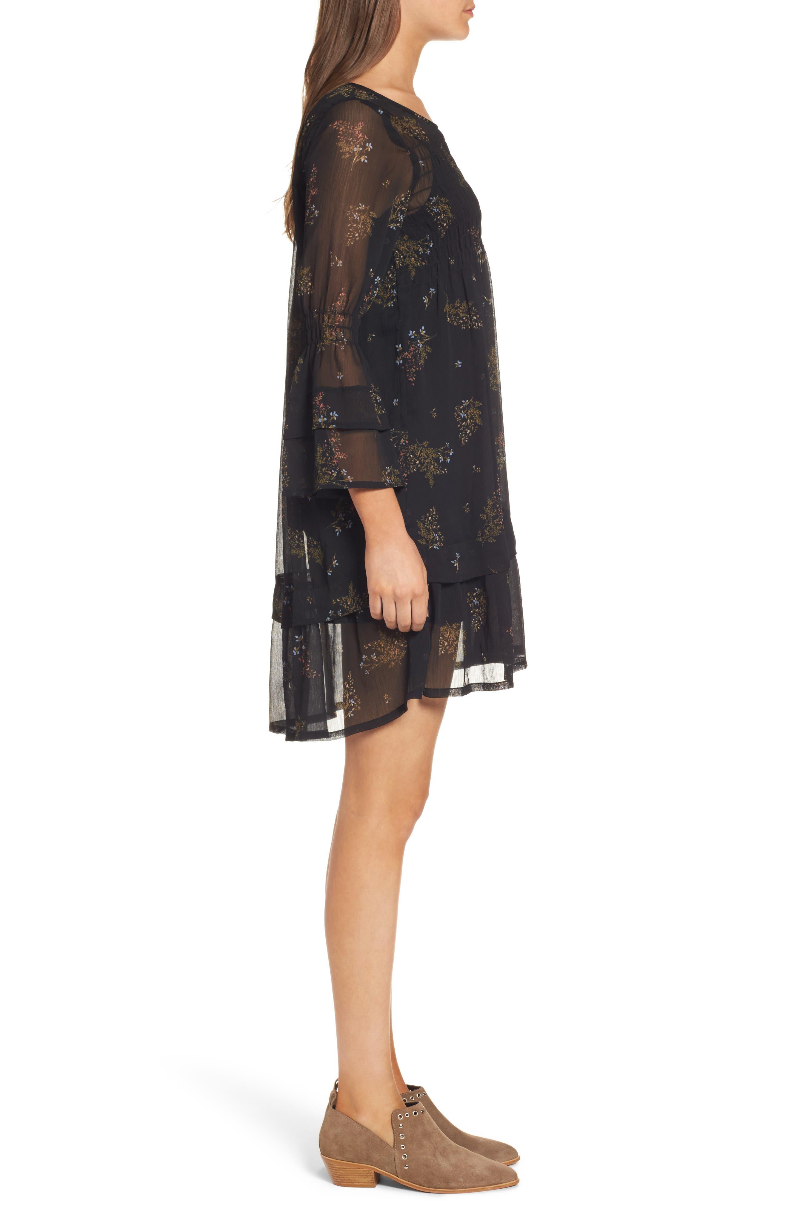 Alternate Image 3  - O'Neill Susannah Bell Sleeve Dress