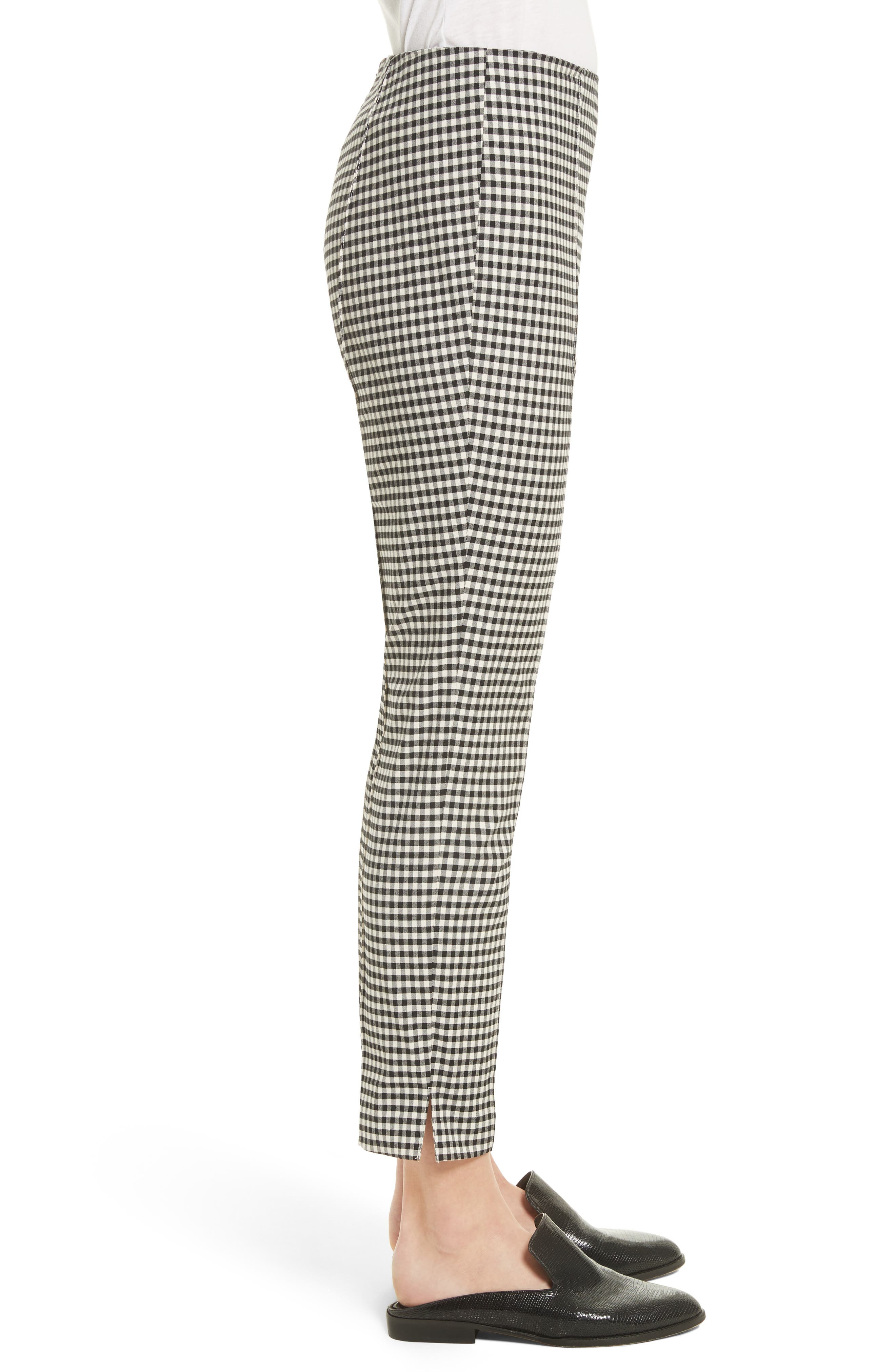 Alternate Image 3  - Veronica Beard Tee High Waisted Seam Trousers