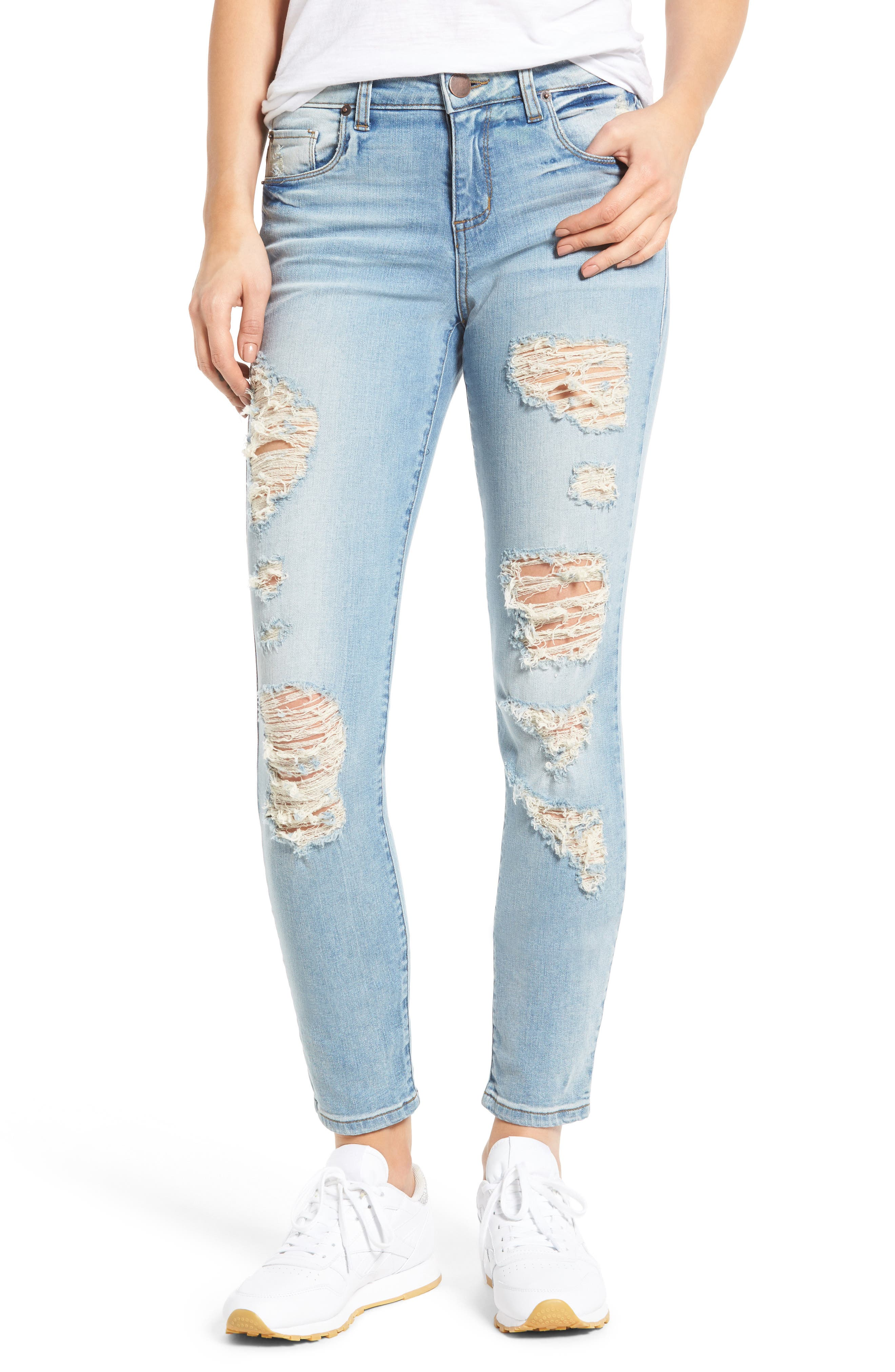 STS Blue Piper Ripped Skinny Ankle Jeans (Antham)