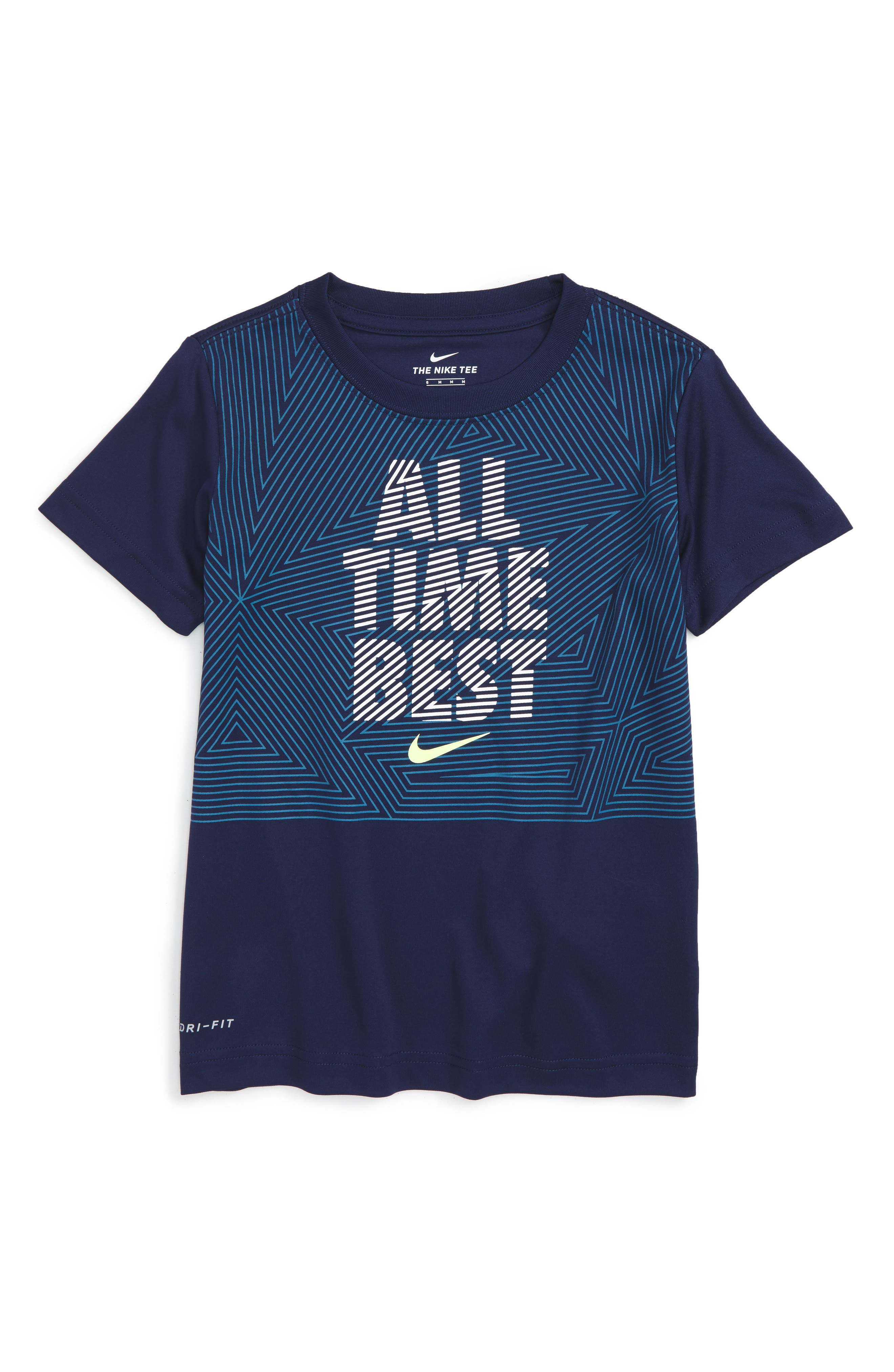 Nike All Time Best Graphic T-Shirt (Toddler Boys & Little Boys)