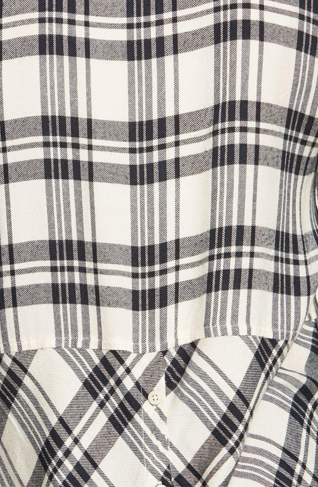 Alternate Image 3  - Lucky Brand Flannel Boyfriend Shirt
