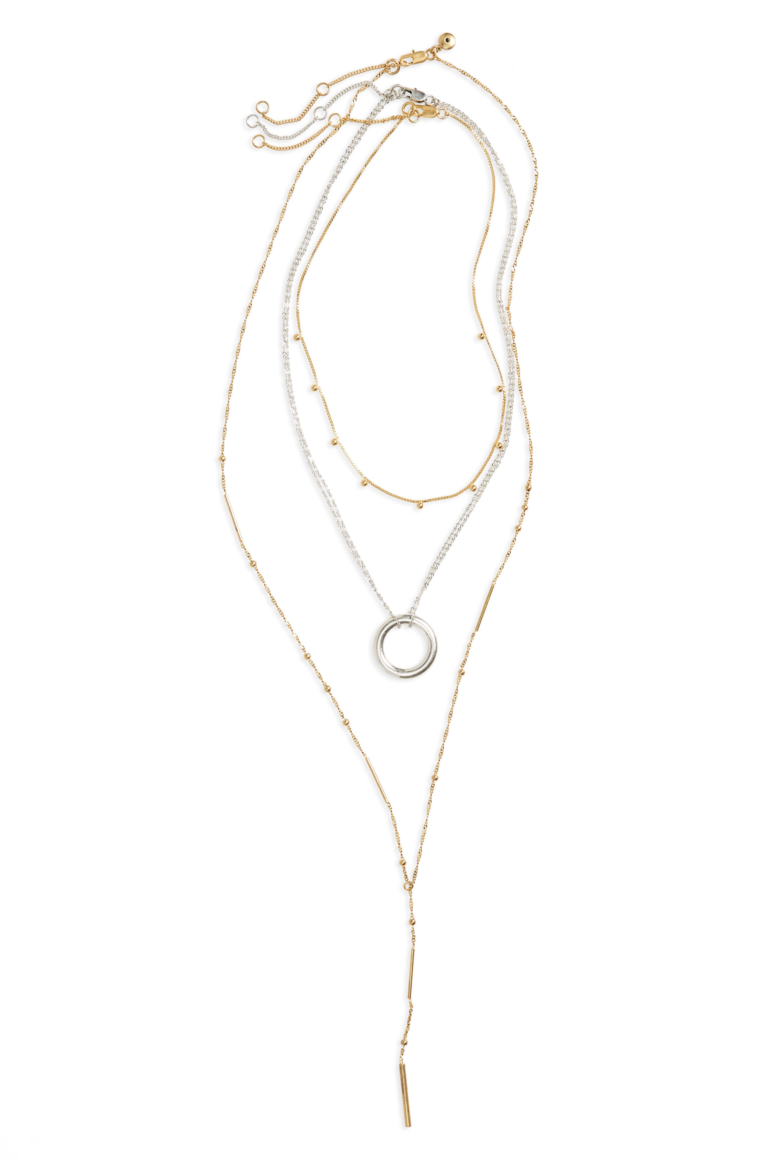 Madewell 3-Pack Necklaces