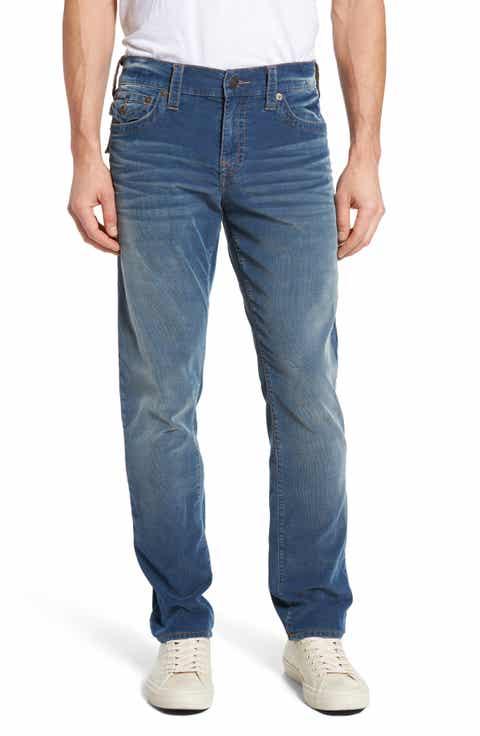 True Religion Brand Jeans Geno Slim Fit Corduroy Pants