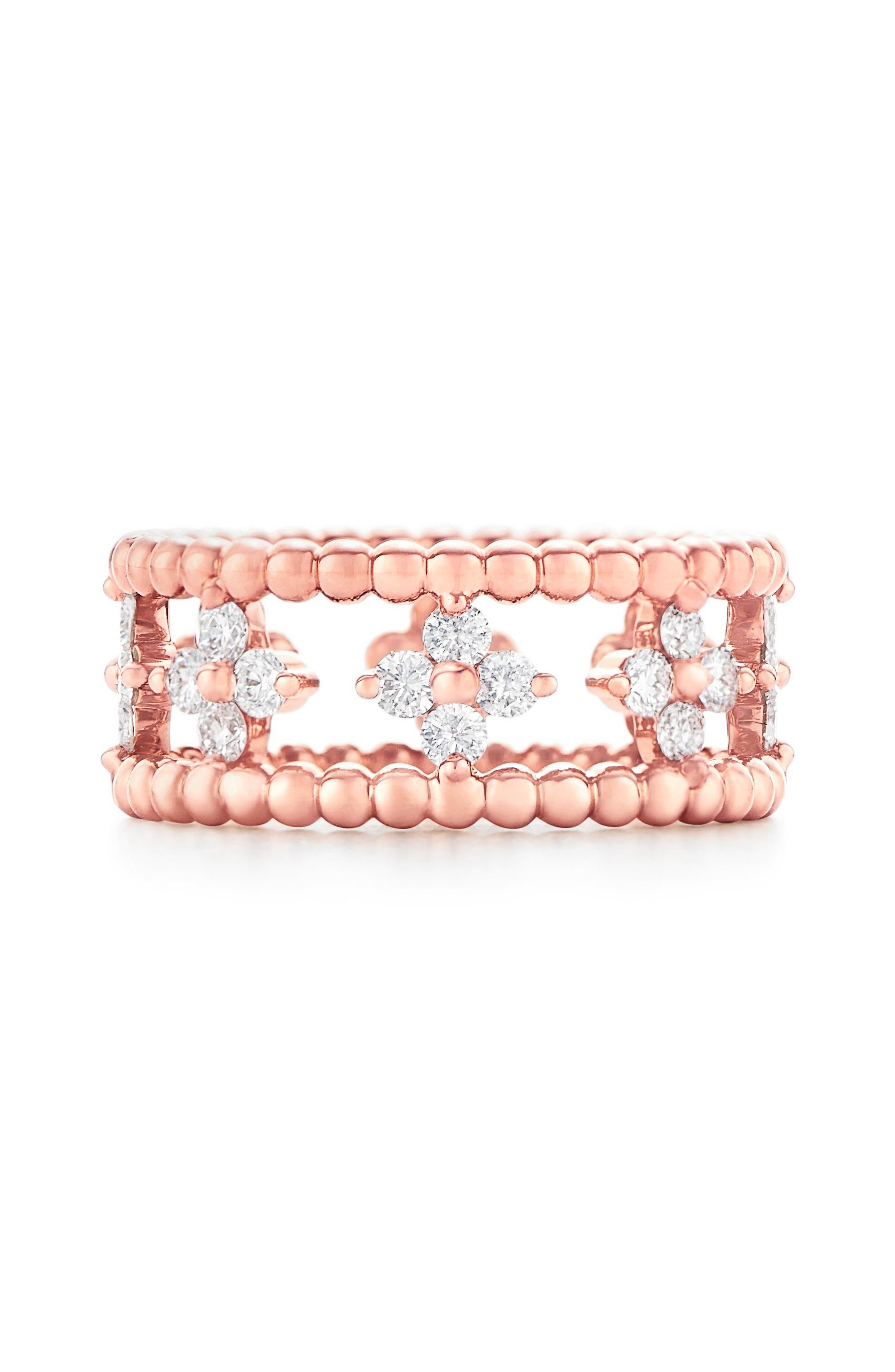 Kwiat Beaded Diamond Ring