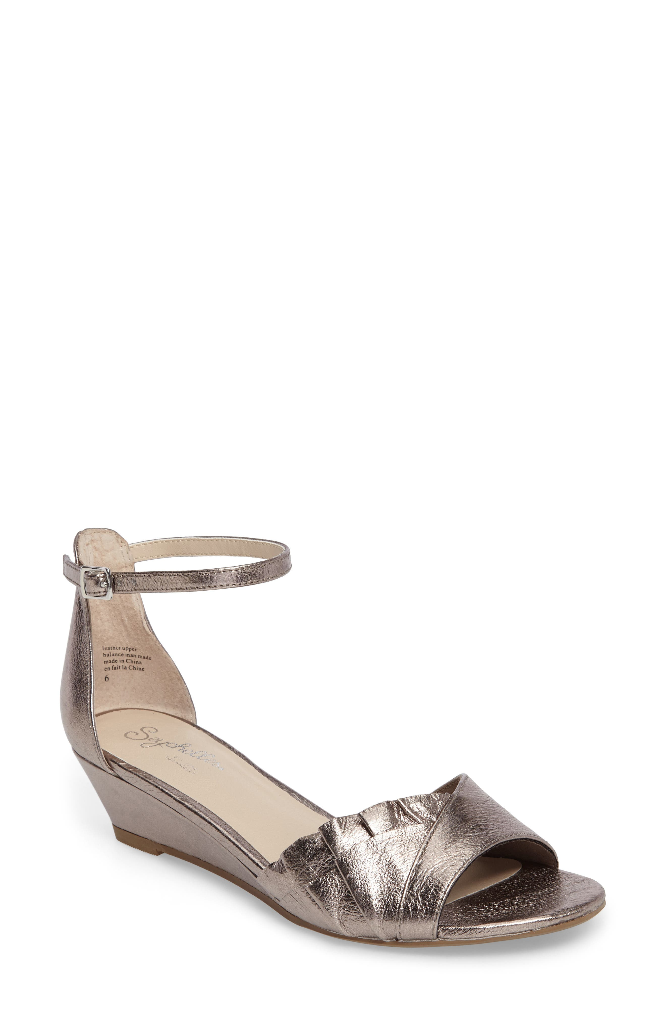 Seychelles Coffee Wedge Sandal (Women)