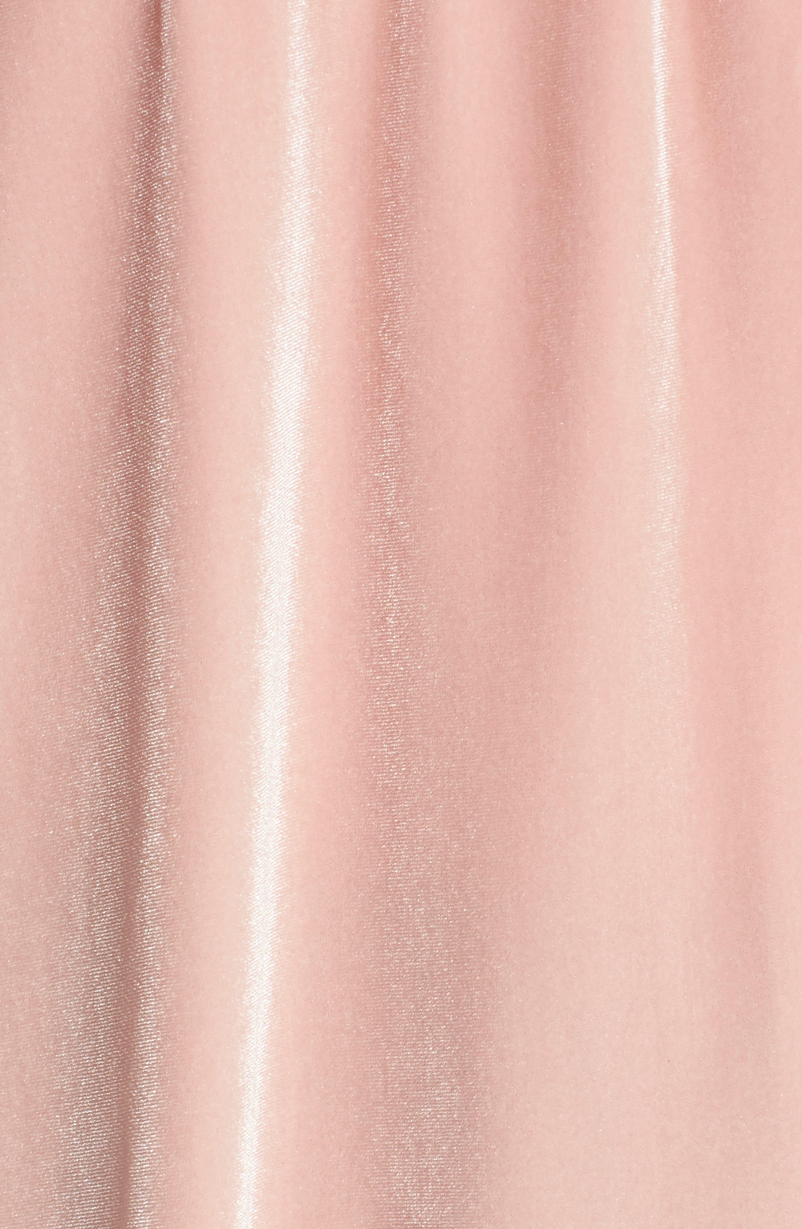 Alternate Image 6  - Hinge Off the Shoulder Velvet Top