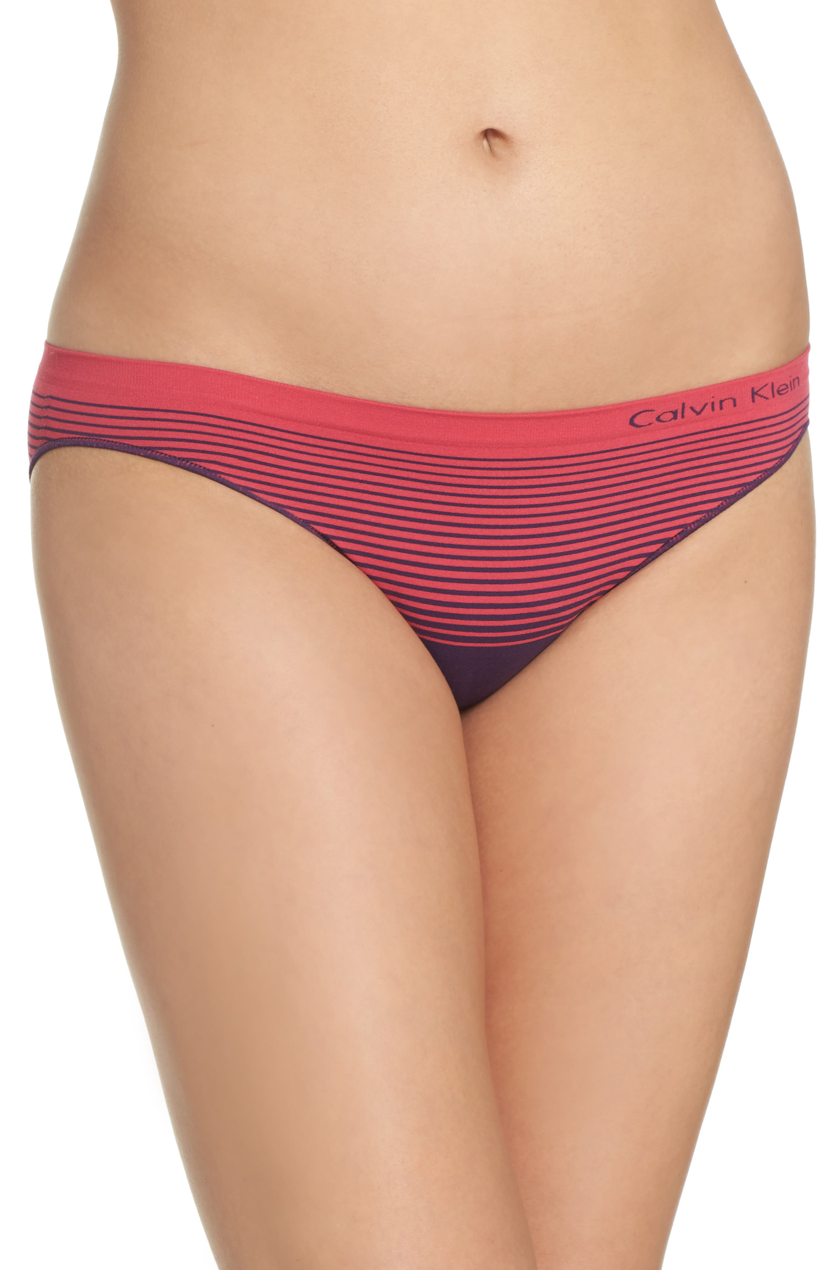 Calvin Klein Illusion Seamless Bikini Briefs (3 for $33)