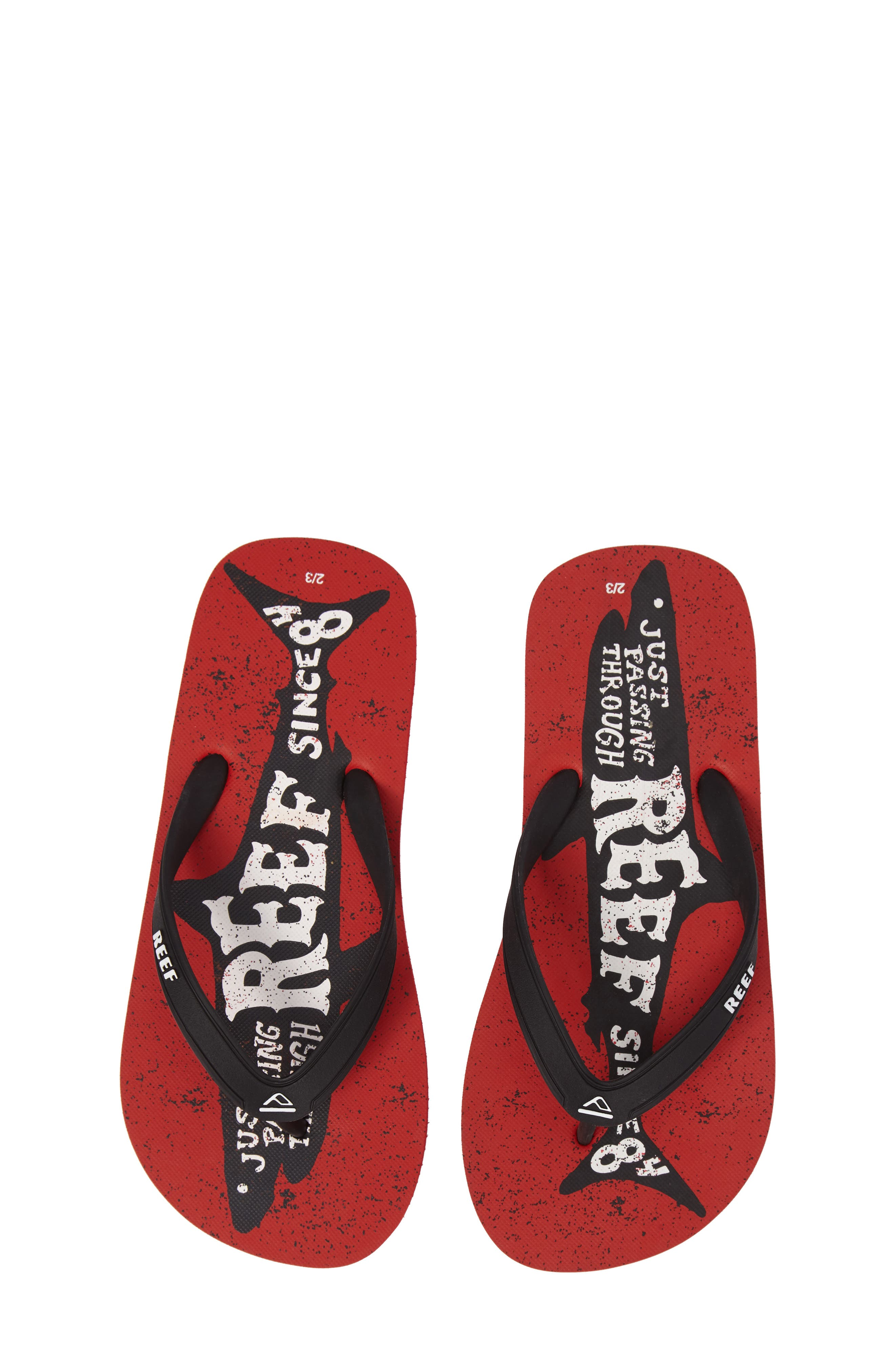 Reef Grom Switchfoot Prints Flip Flop (Toddler, Little Kid & Big Kid)