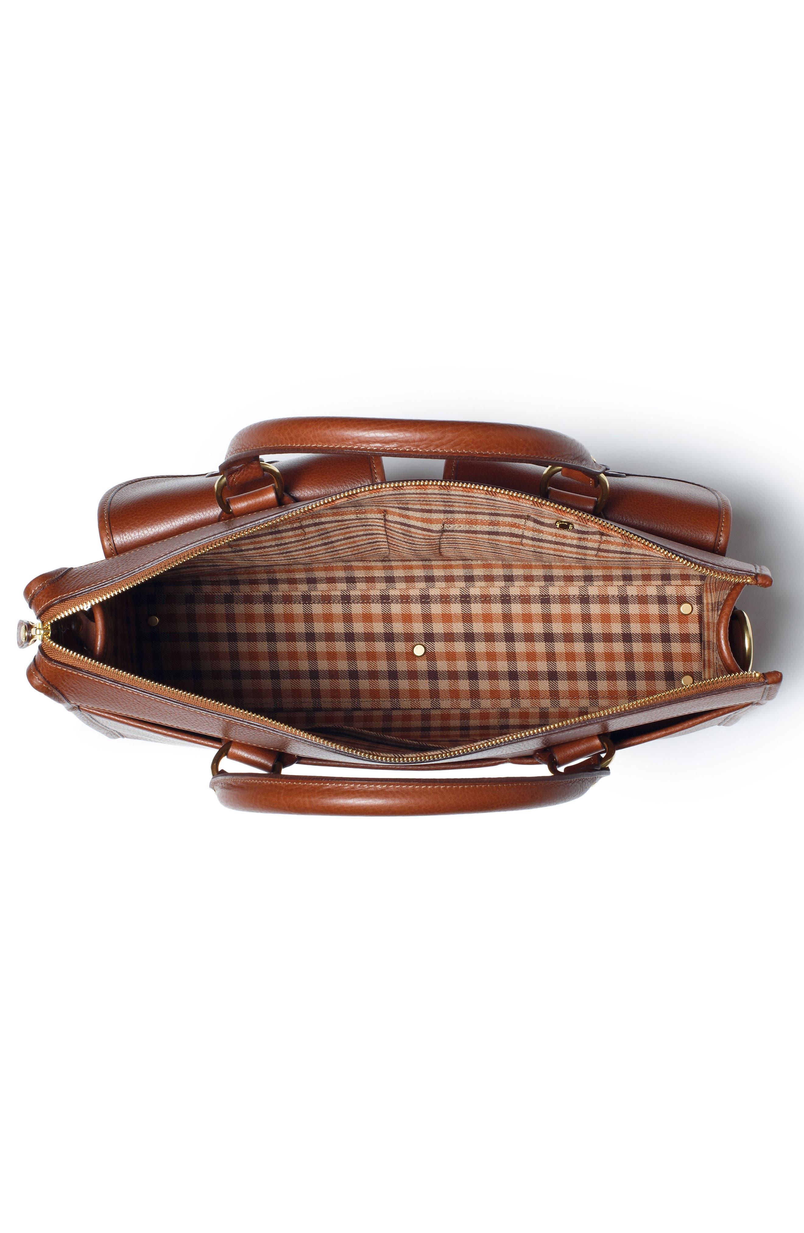 Alternate Image 4  - Ghurka 'Examiner' Leather Briefcase