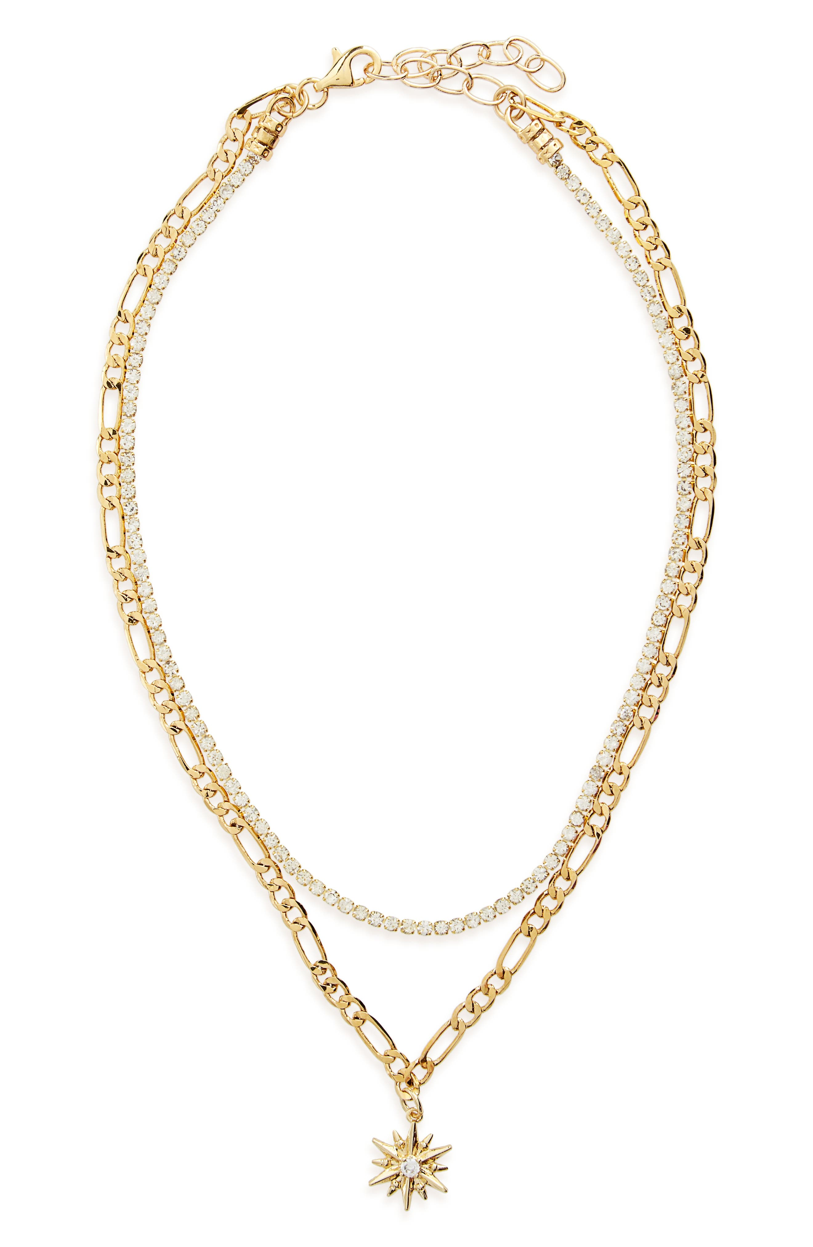 FRASIER STERLING What's Luv Layered Necklace
